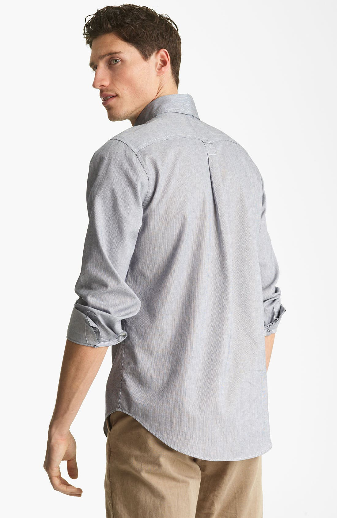 Alternate Image 2  - Jack Spade 'Mills' Stripe Sport Shirt