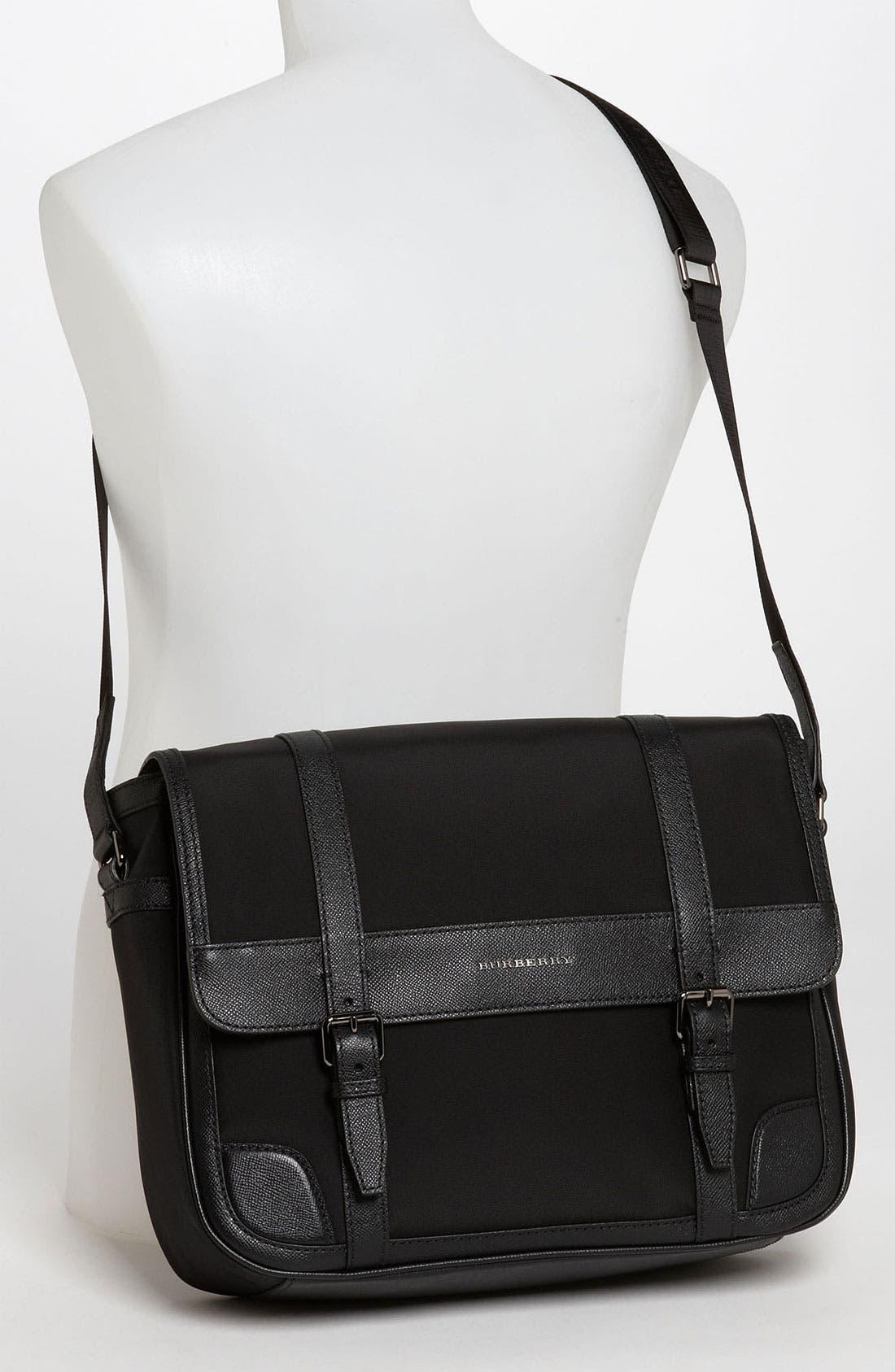 Alternate Image 4  - Burberry Messenger Bag