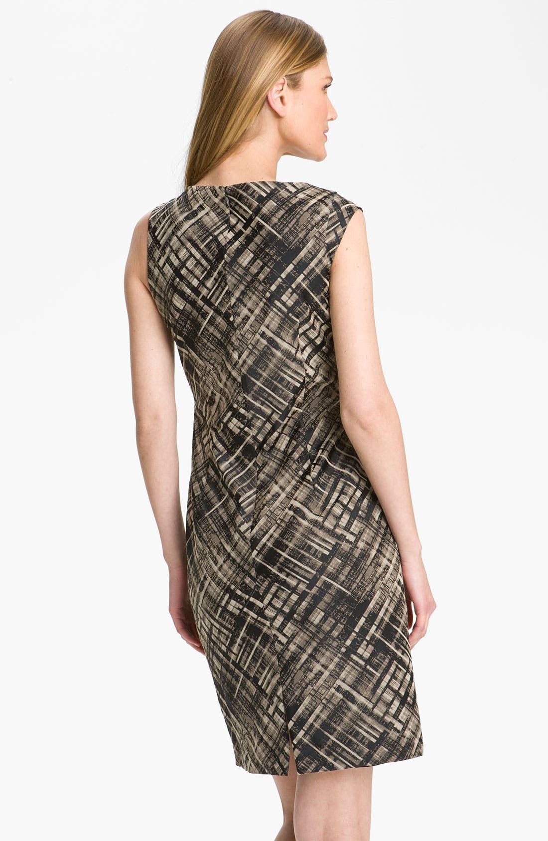 Alternate Image 2  - Lafayette 148 New York 'Vania Magna Jacquard' Sheath Dress