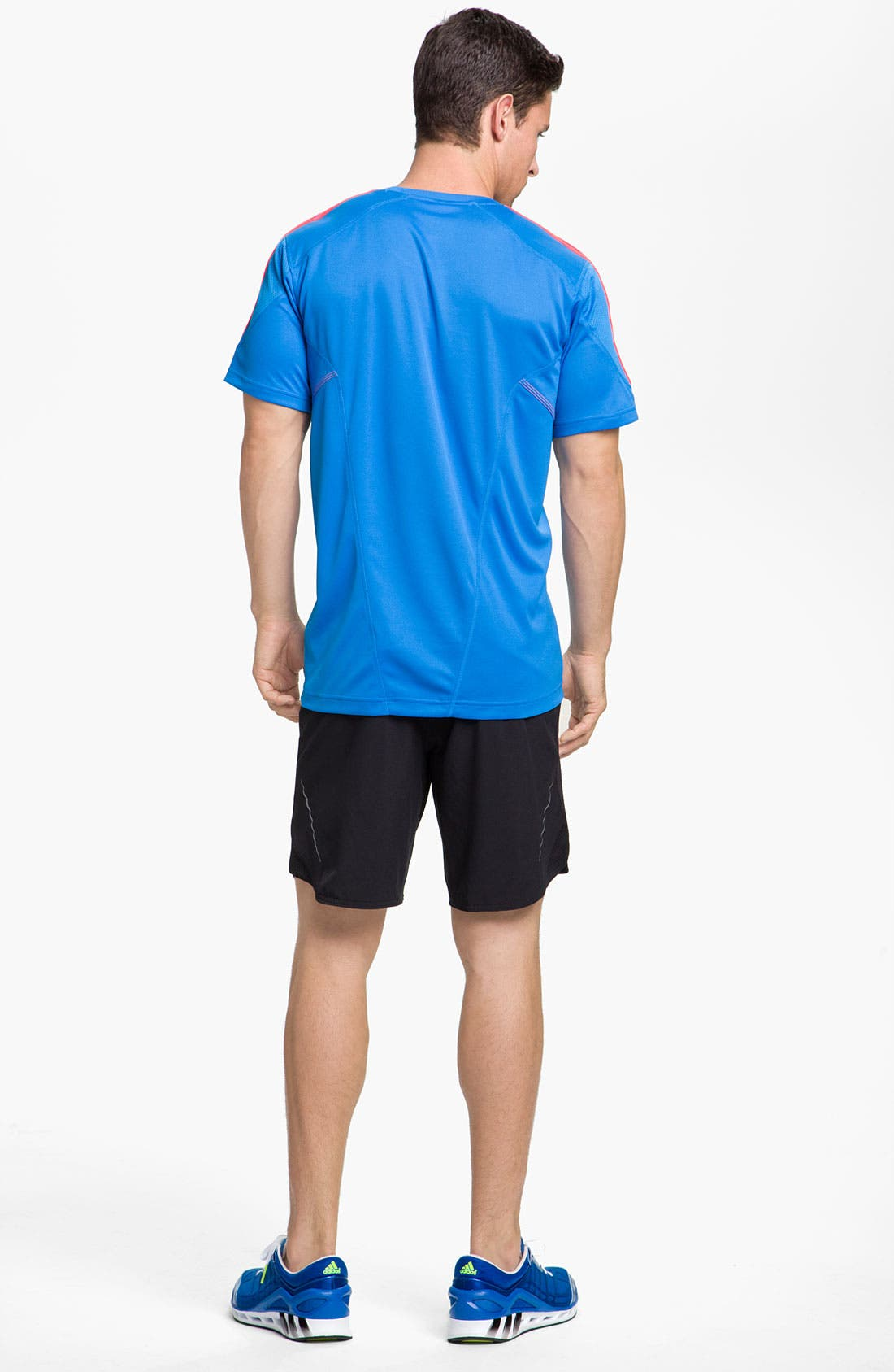 Alternate Image 5  - adidas 'Response Drei Streifen' T-Shirt