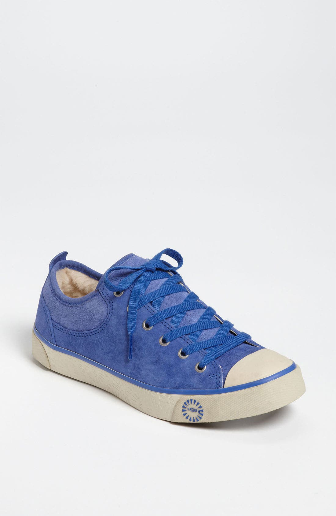 Australia 'Evera' Suede Sneaker,                             Main thumbnail 1, color,                             Deep Periwinkle