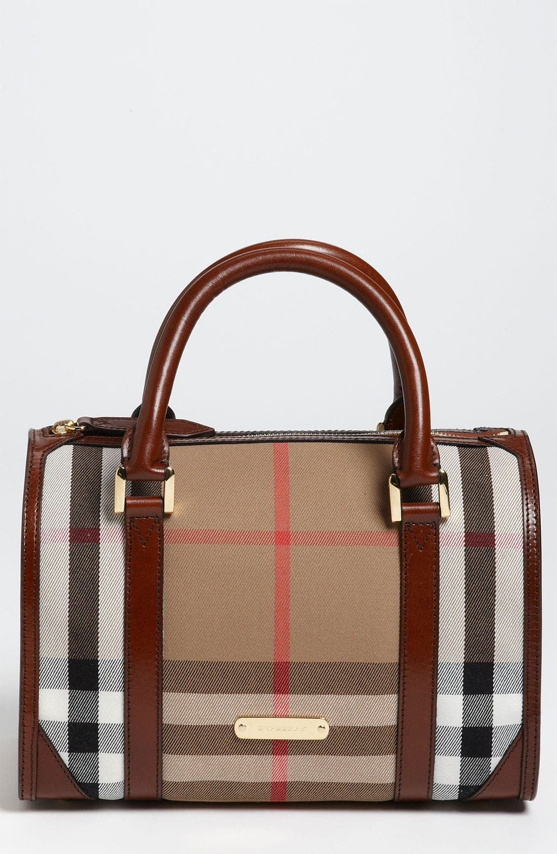 Main Image - Burberry 'House Check' Satchel