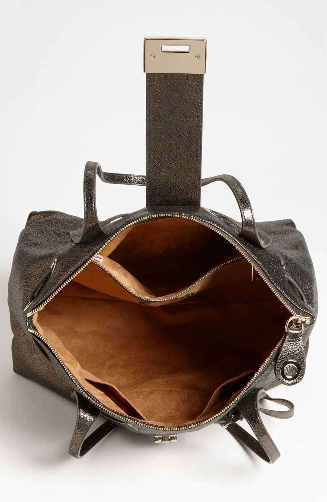 Alternate Image 3  - Jimmy Choo 'Rhea' Glitter Leather Tote