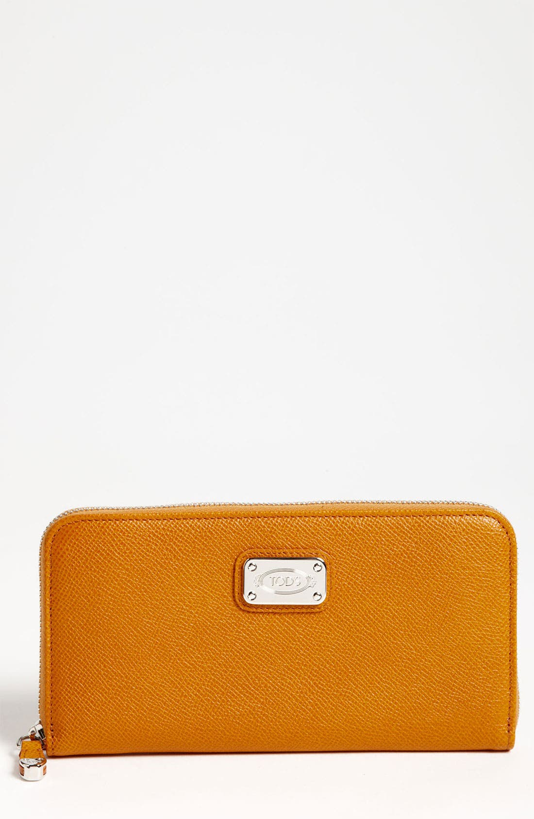 Alternate Image 1 Selected - Tod's 'D-Styling' Zip Around Wallet
