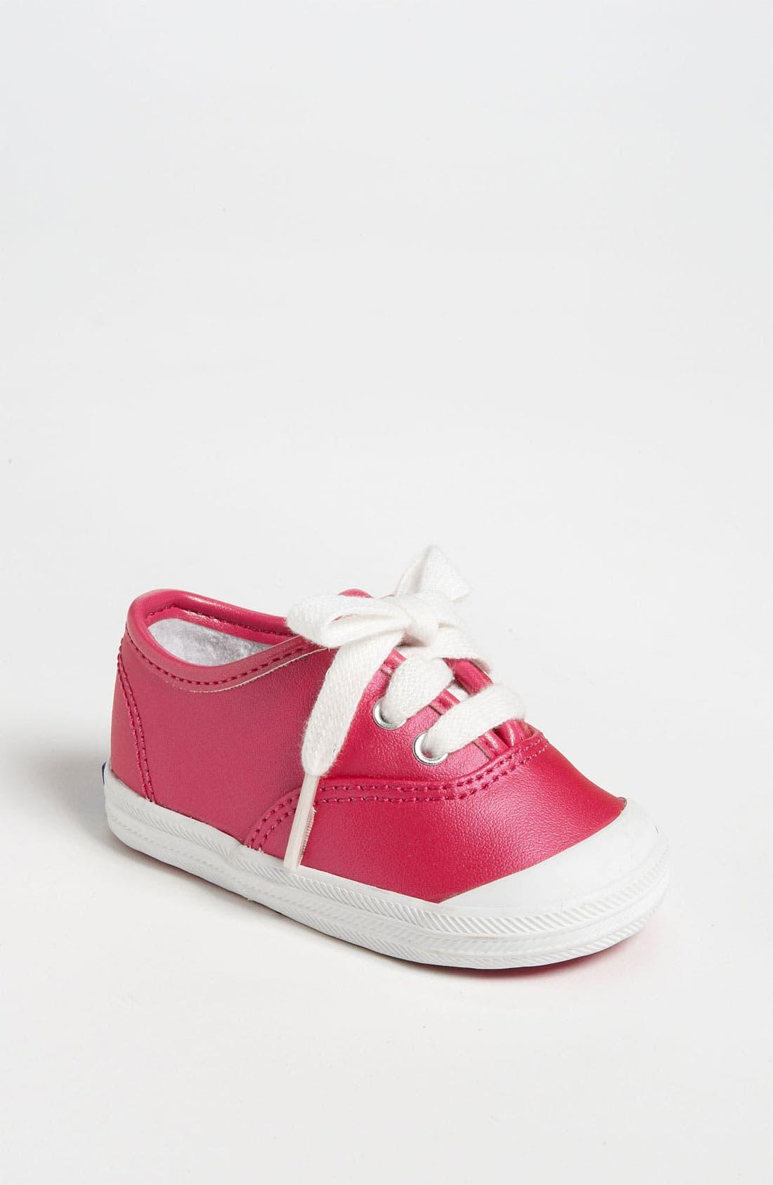 Alternate Image 1 Selected - Keds® 'Champion' Crib Shoe (Baby)