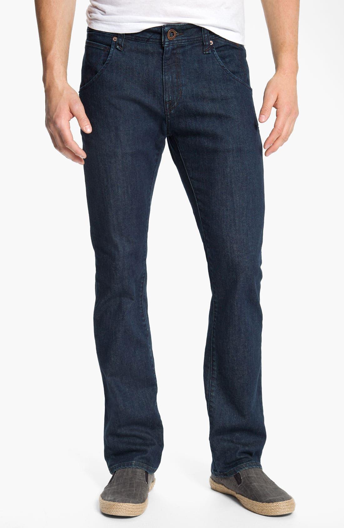 Alternate Image 2  - Volcom 'Nova' Slim Straight Leg Jeans (Los Tintos) (Online Only)