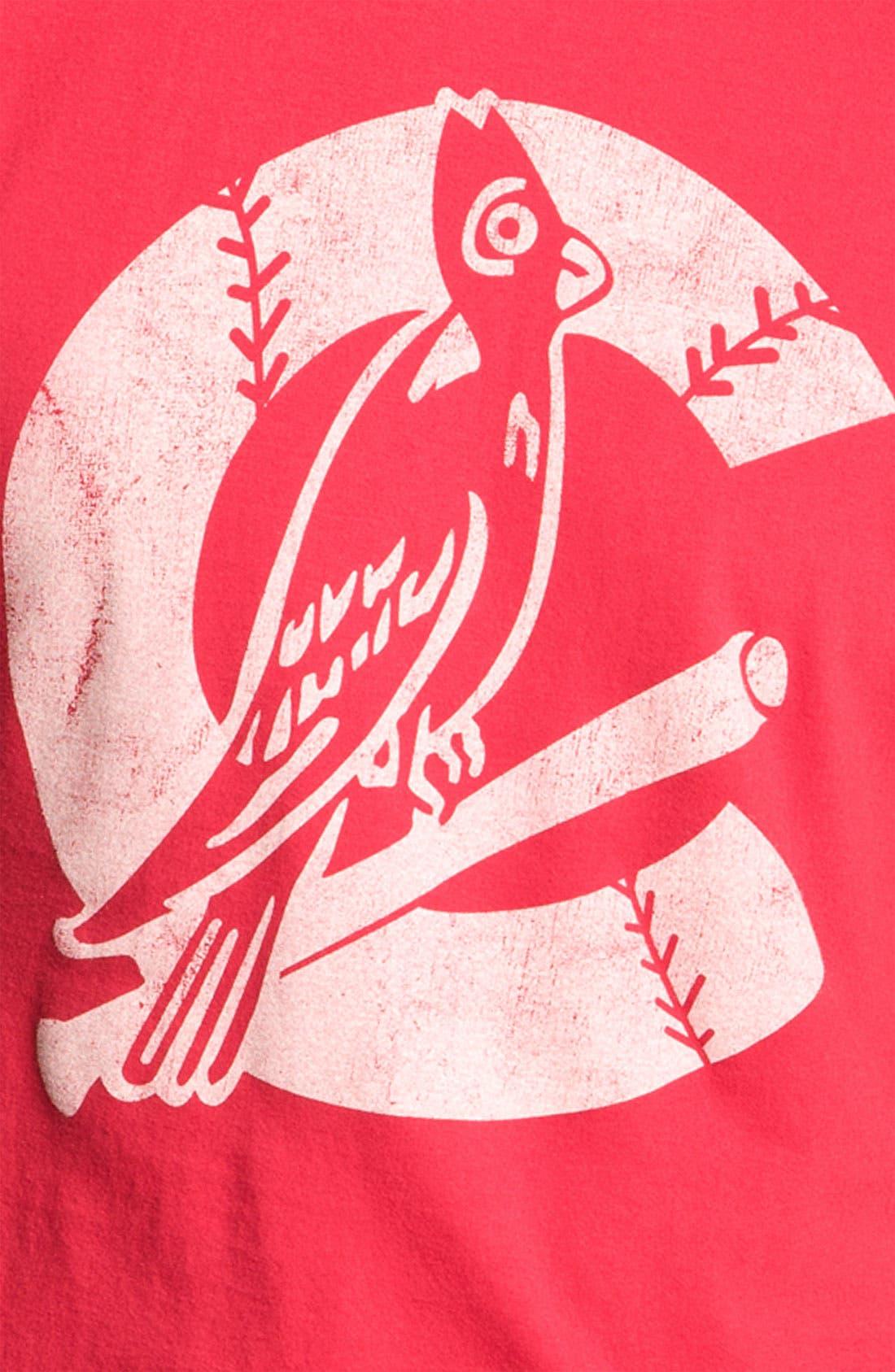 Alternate Image 3  - Wright & Ditson 'St. Louis Cardinals' Baseball T-Shirt