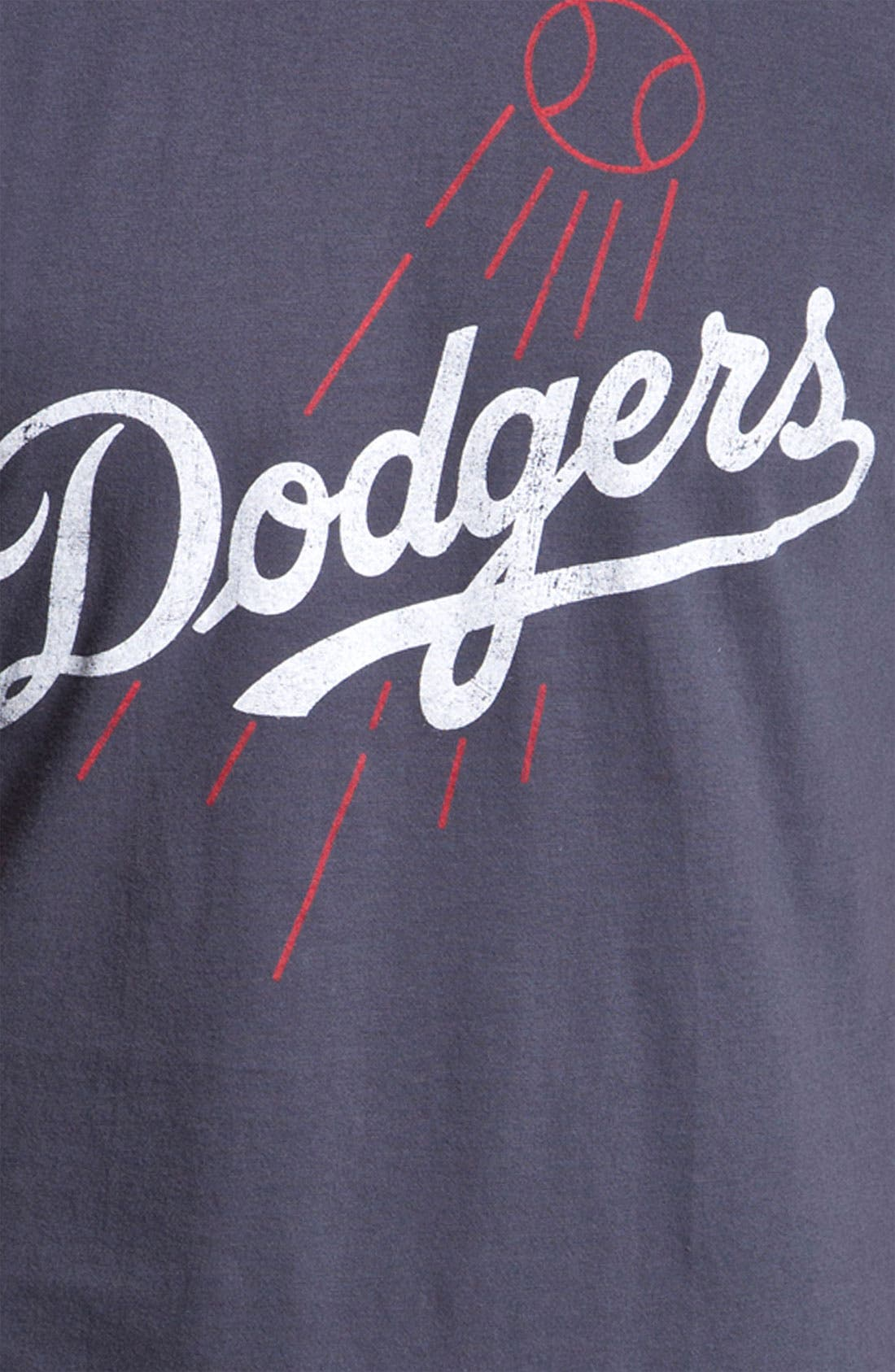 Alternate Image 2  - Wright & Ditson 'Los Angeles Dodgers' Baseball T-Shirt