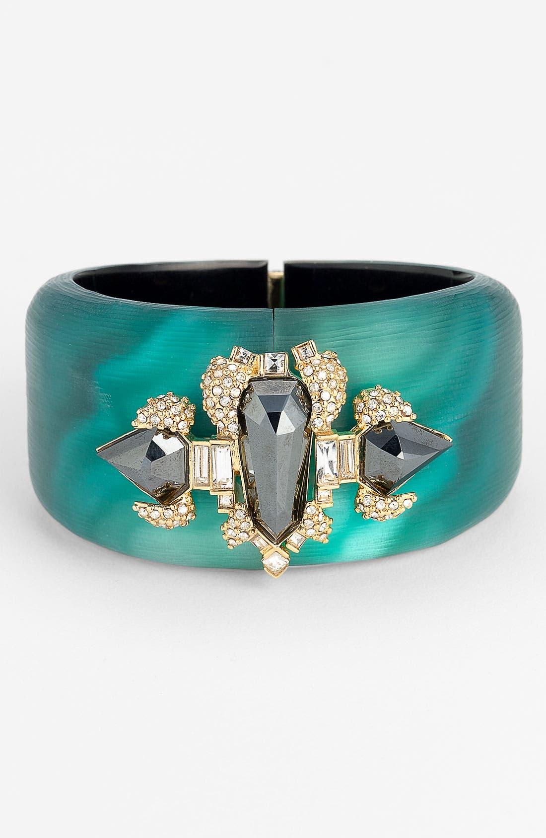 Alternate Image 1 Selected - Alexis Bittar 'Teatro Moderne' Large Shield Bracelet (Nordstrom Exclusive)