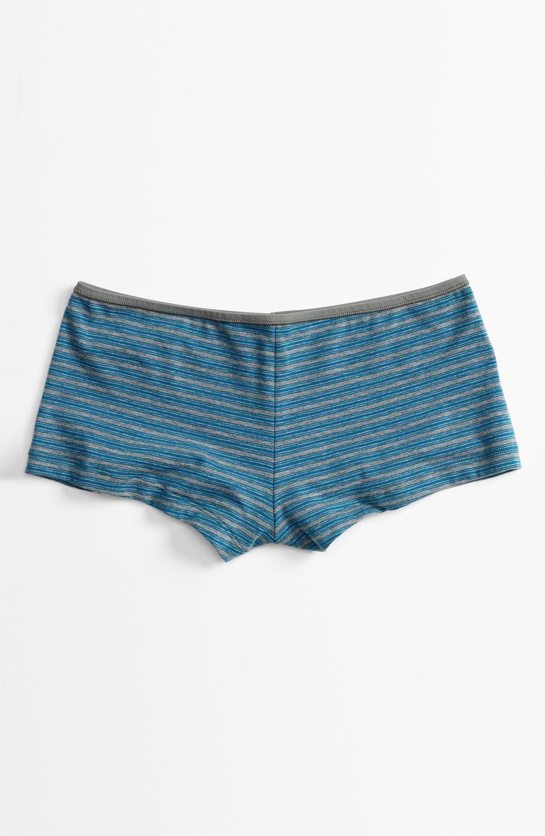 Main Image - Shimera Stretch Cotton Boyshorts (4 for $34)