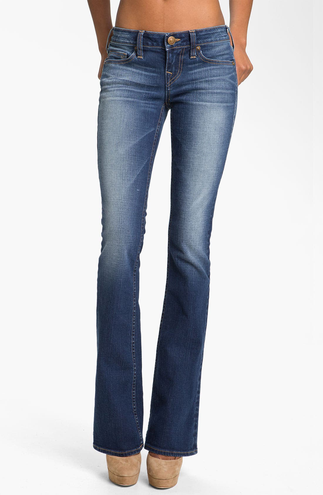 Alternate Image 1 Selected - True Religion Brand Jeans 'Bobby' Bootcut Jeans (Del Mar Medium)