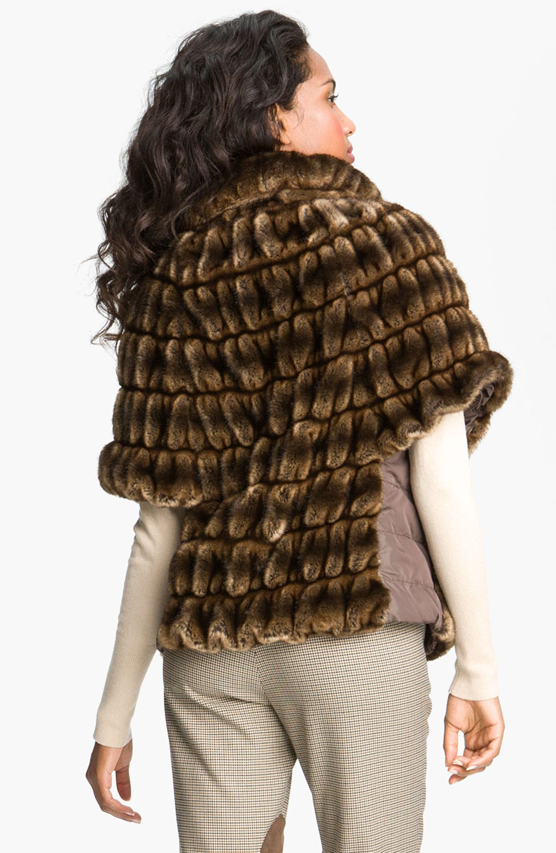 Alternate Image 5  - Weekend Max Mara 'Taso' Faux Fur Jacket