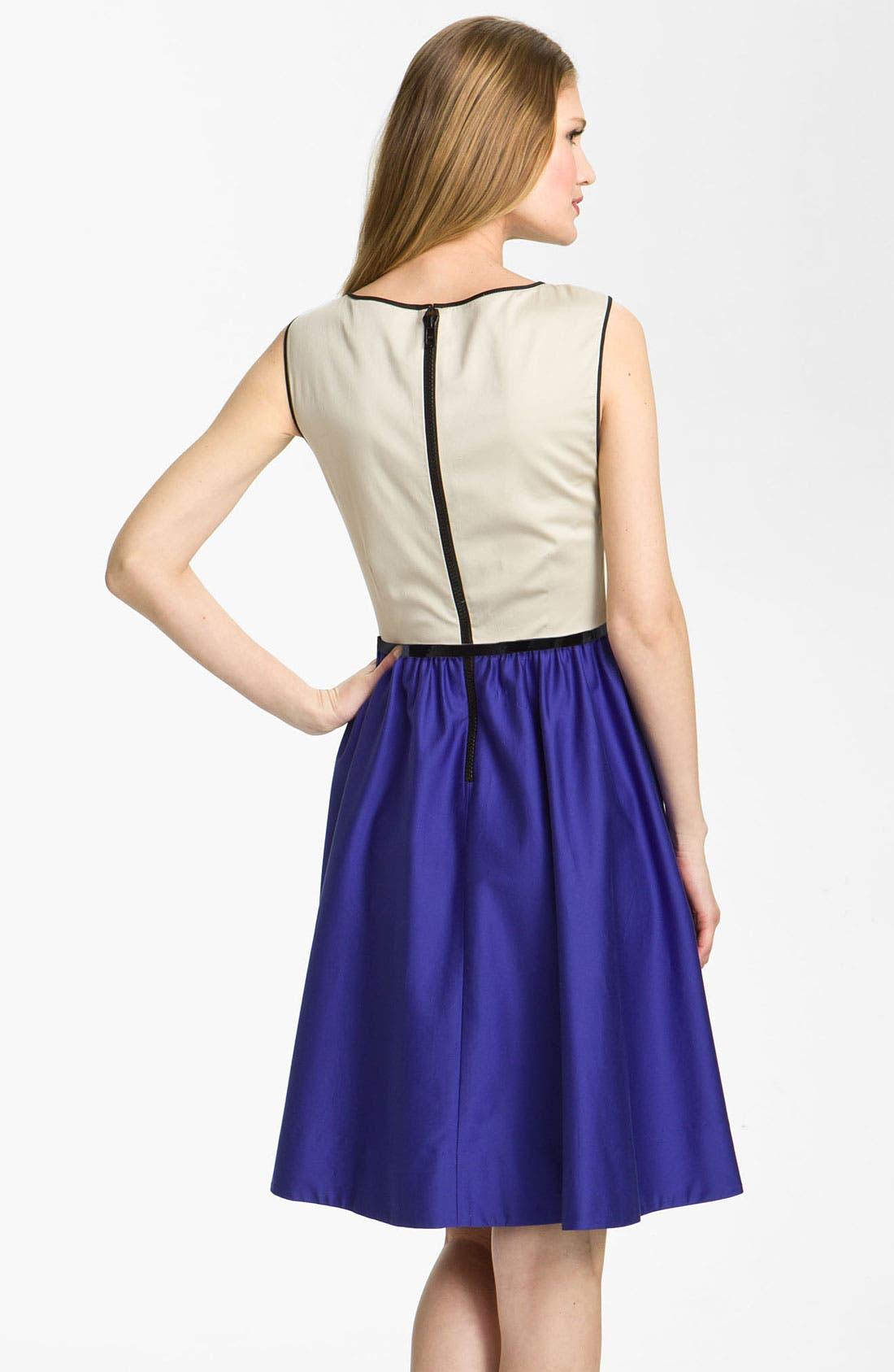 Alternate Image 2  - kate spade new york 'dee' colorblock dress