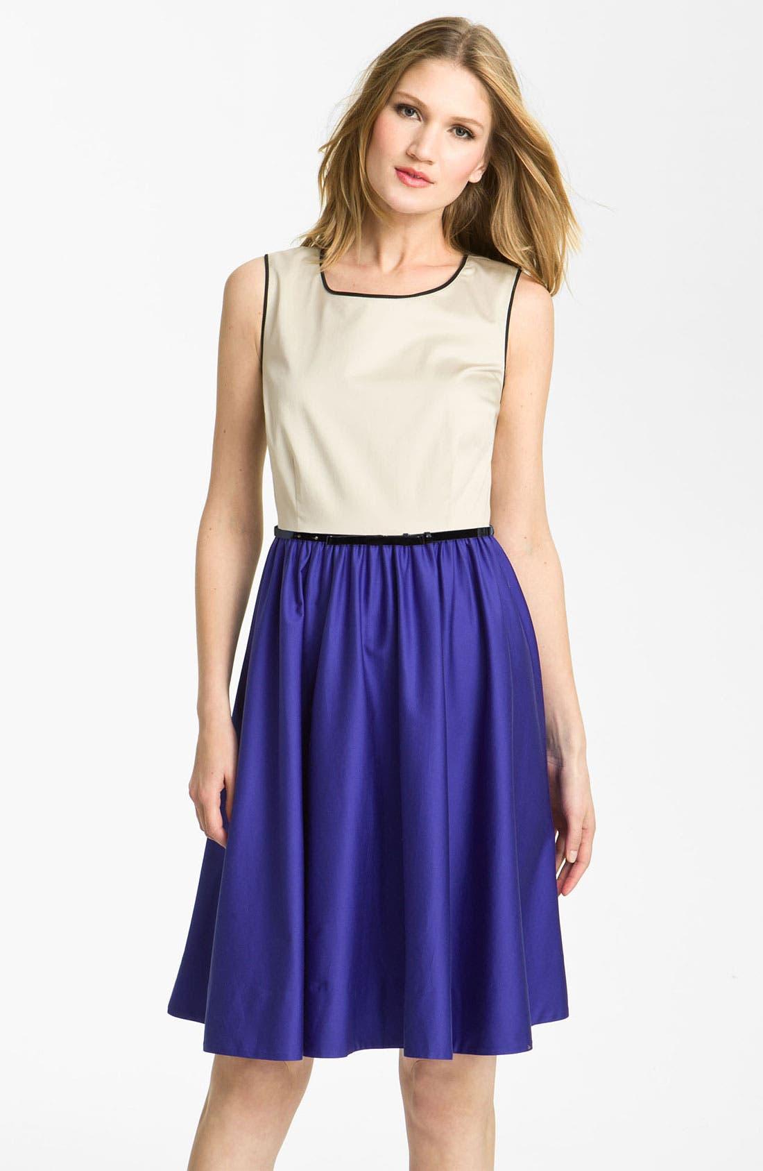 Alternate Image 1 Selected - kate spade new york 'dee' colorblock dress