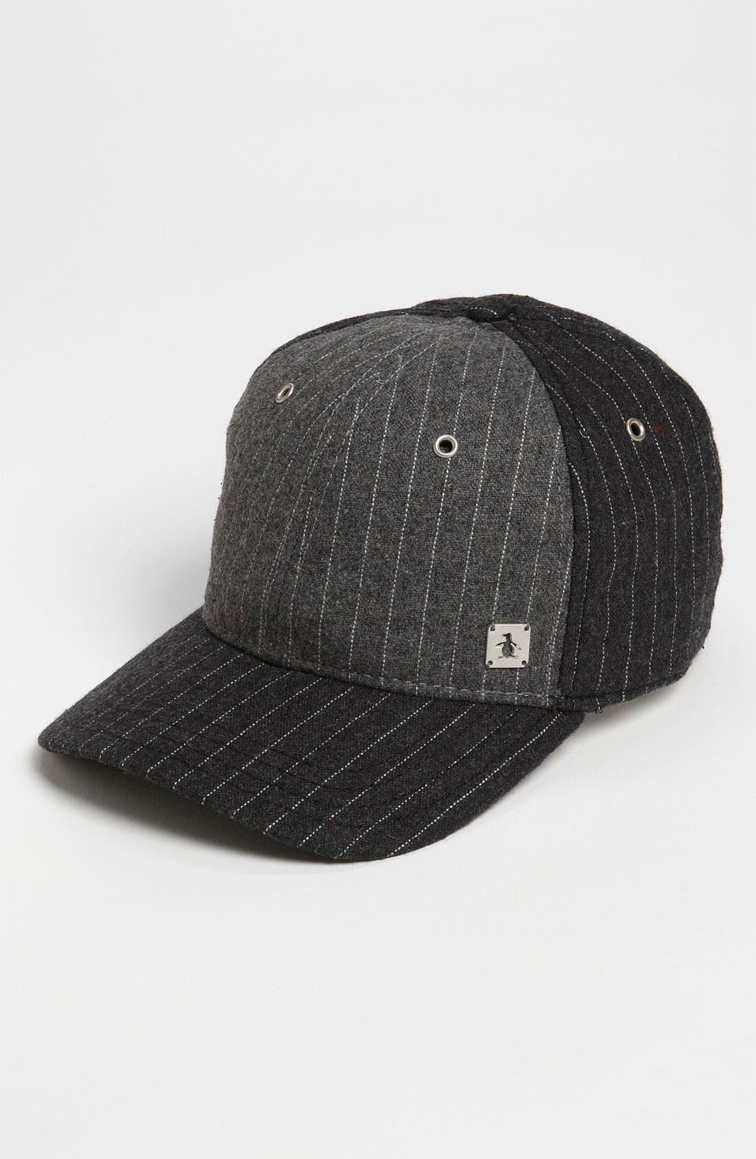 Main Image - Original Penguin Pinstripe Baseball Cap