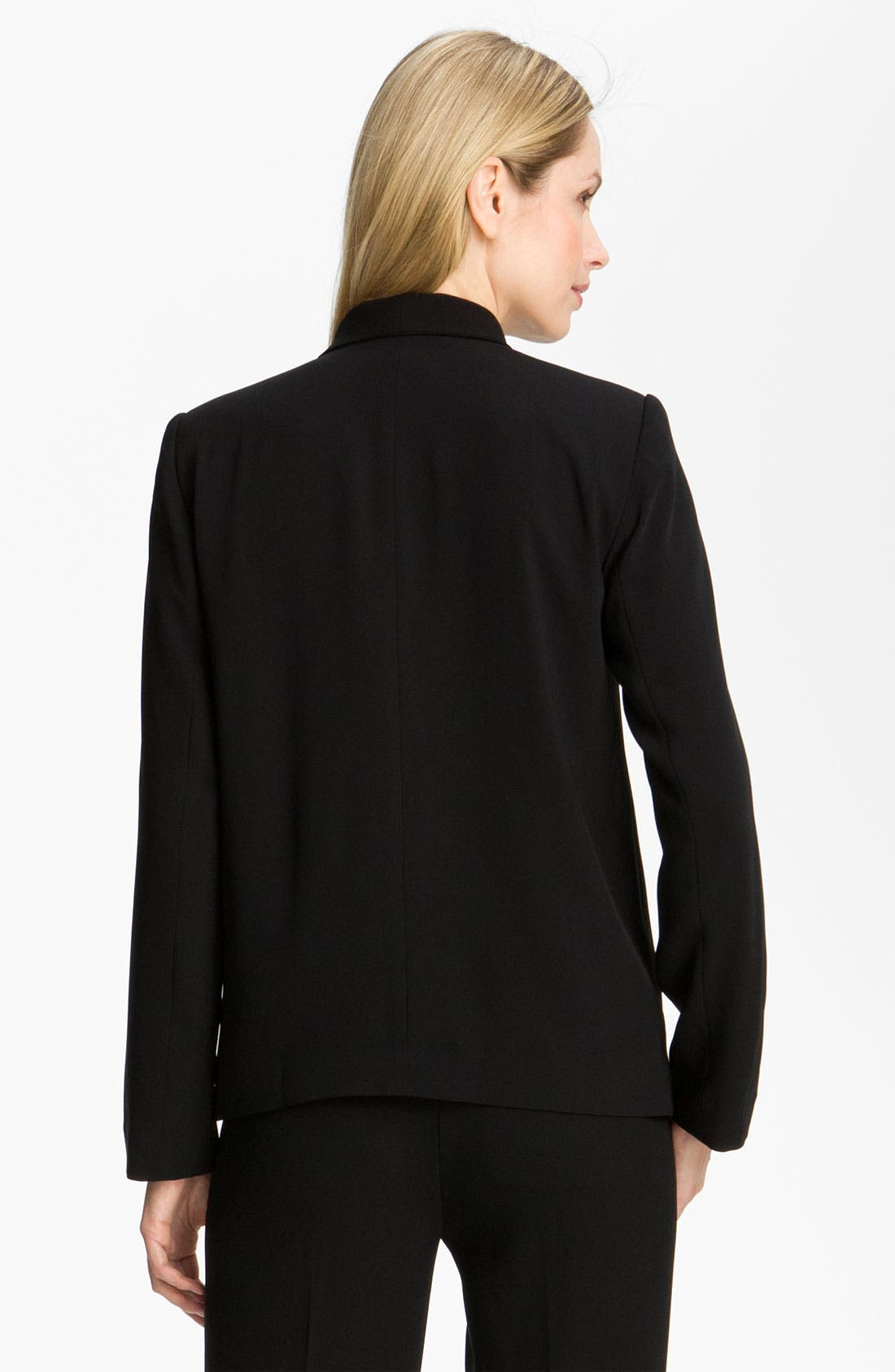 Alternate Image 3  - Eileen Fisher Open Front Tropical Weight Jacket