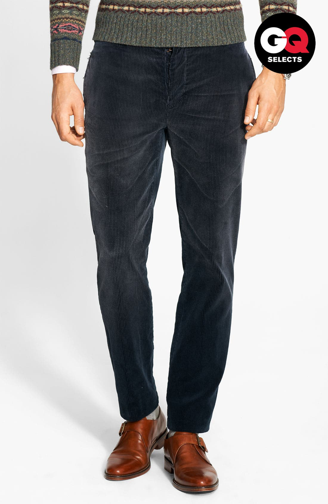 Alternate Image 1 Selected - Polo Ralph Lauren 'Country' Corduroy Pants