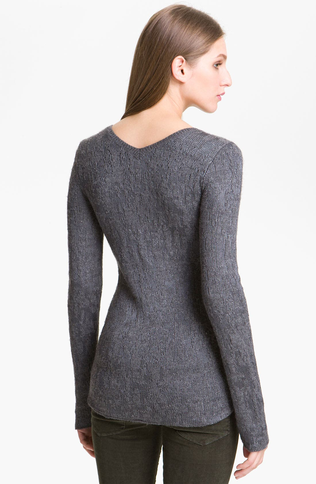 Alternate Image 2  - Theyskens' Theory 'Knupa B Yeuna' Jacquard Knit Pullover