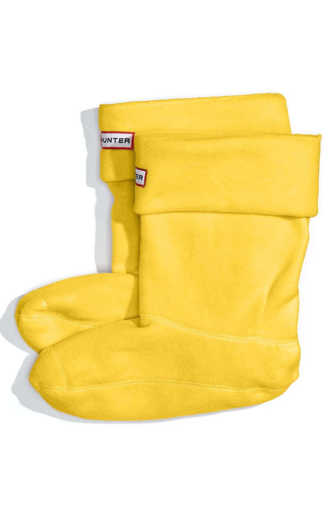 Alternate Image 1 Selected - Hunter Short Fleece Welly Socks