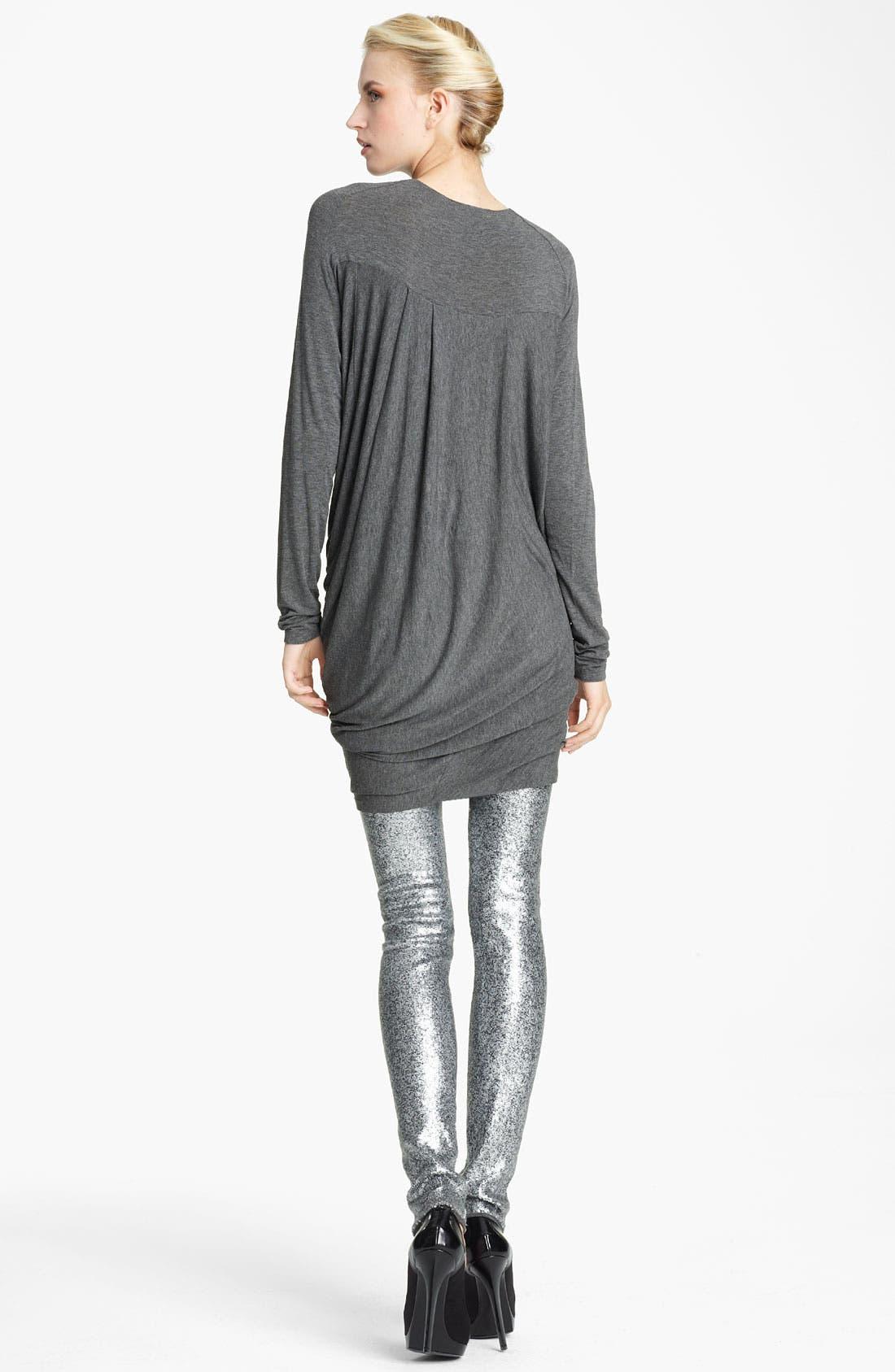 Alternate Image 2  - Donna Karan Collection Draped Stretch Jersey Dress
