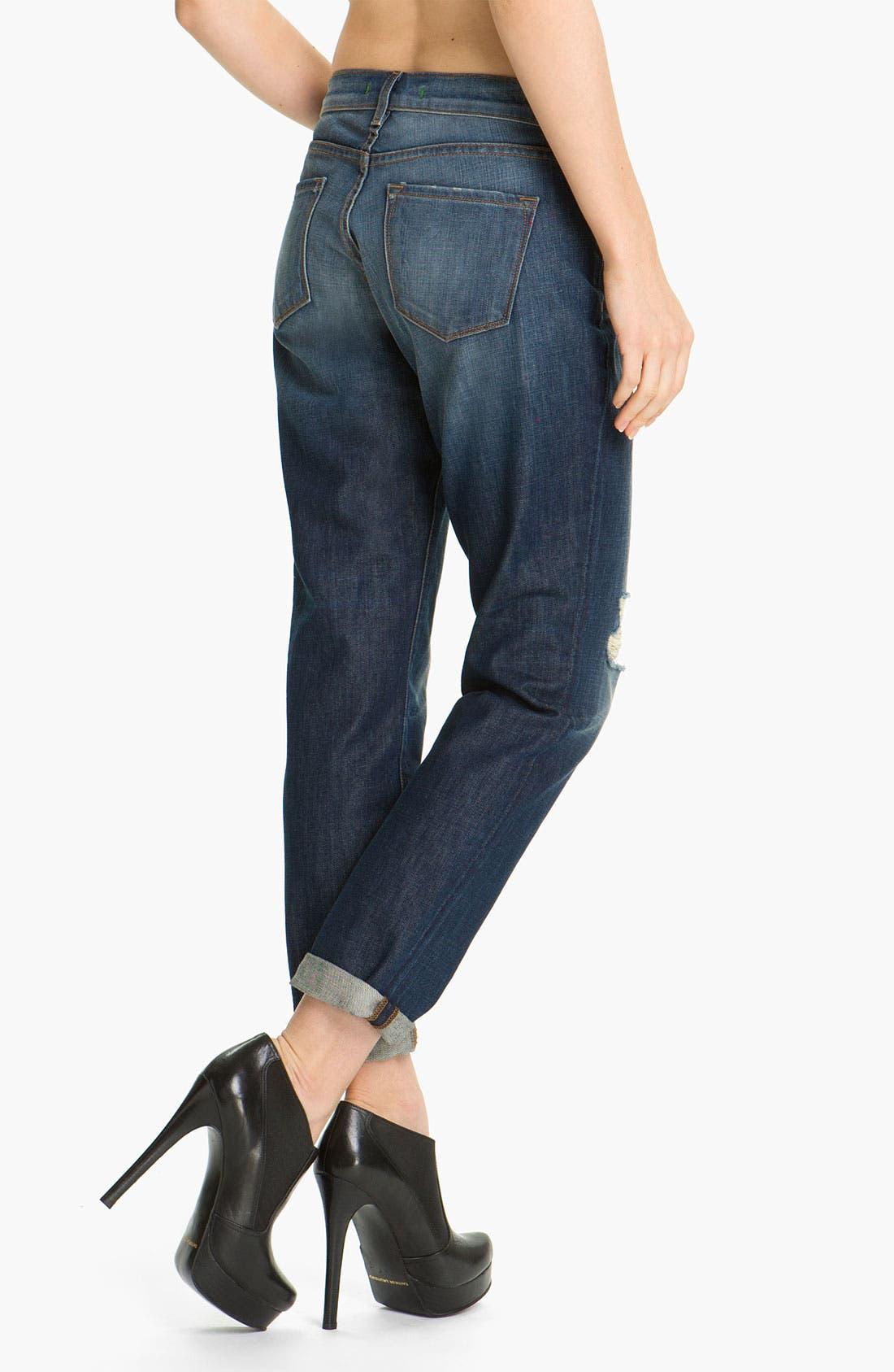 Alternate Image 2  - J Brand 'Aidan' Distressed Boyfriend Fit Jeans (Ringer)