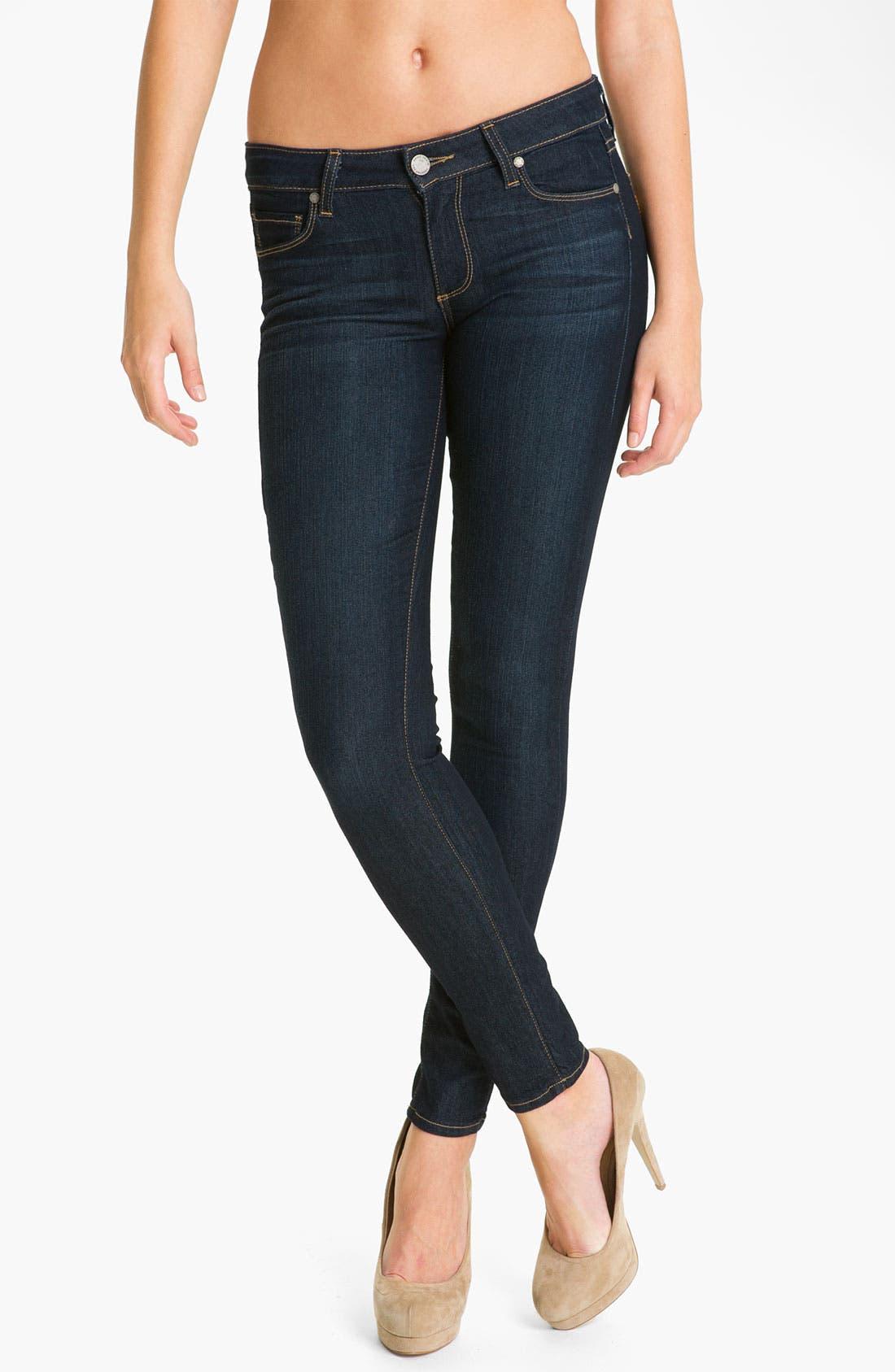 Alternate Image 1 Selected - Paige Denim 'Verdugo' Stretch Skinny Jeans (Stream)
