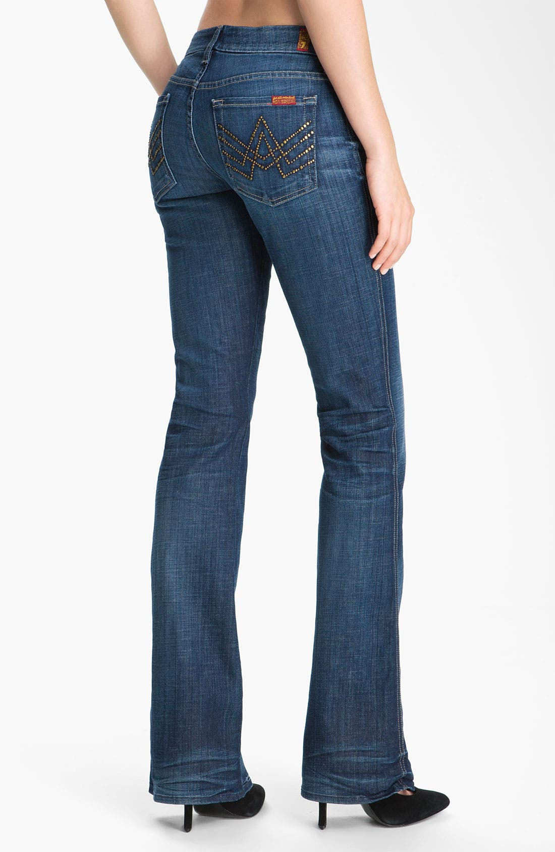 Alternate Image 2  - 7 For All Mankind® 'A-Pocket' Bootcut Stretch Jeans (Royal Mountain Valley)
