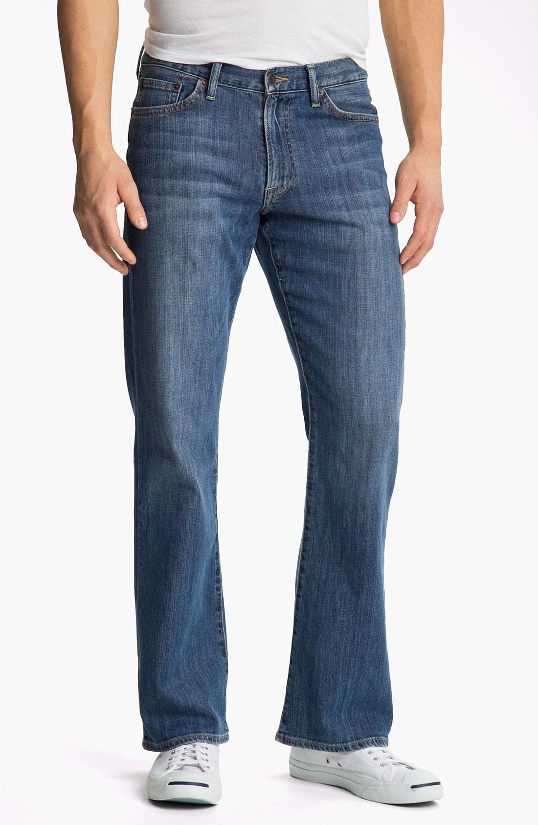 Main Image - Lucky Brand '367 Vintage' Bootcut Jeans (Nugget)