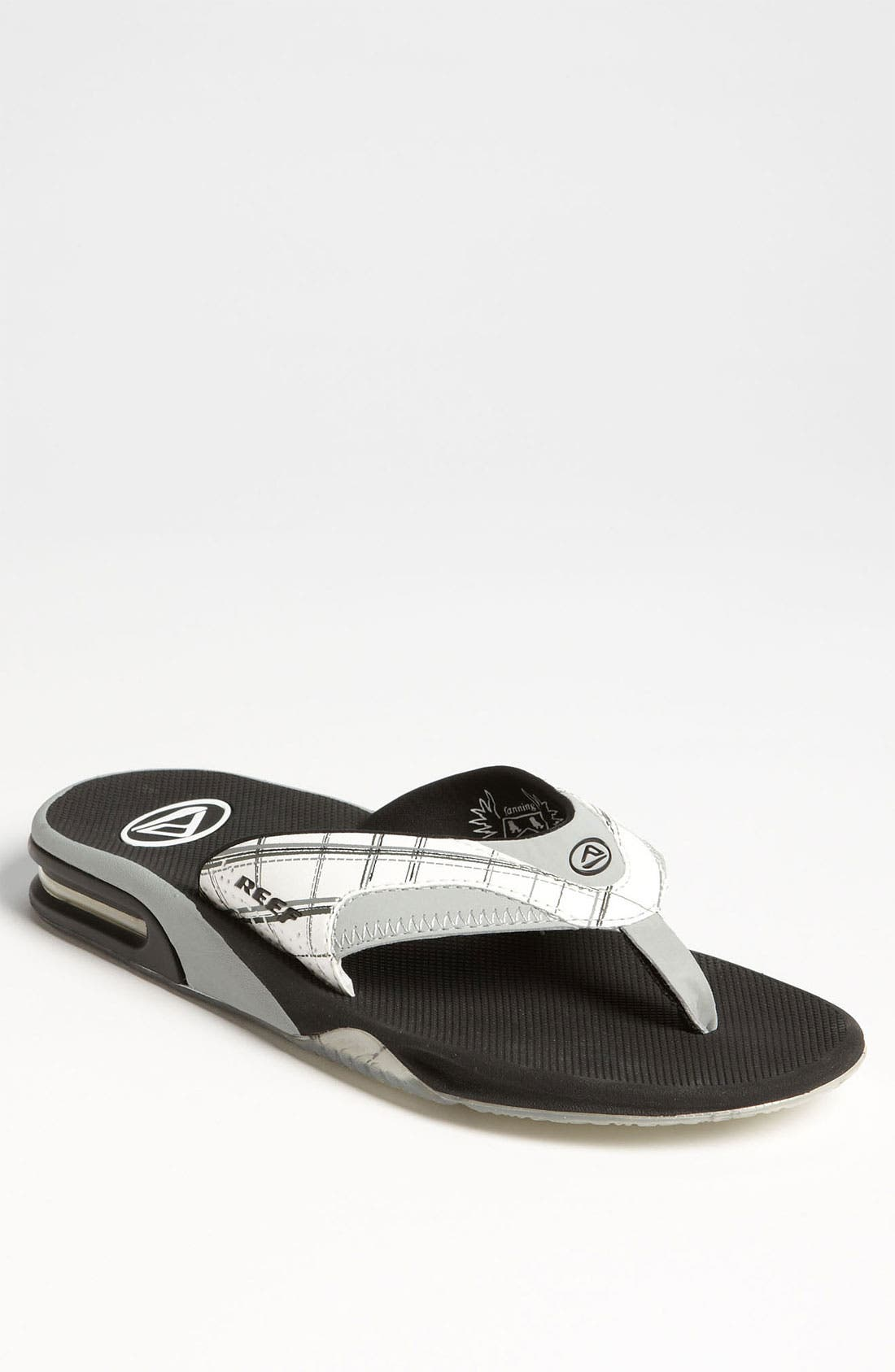 Main Image - Reef 'Fanning Plaid' Flip Flop