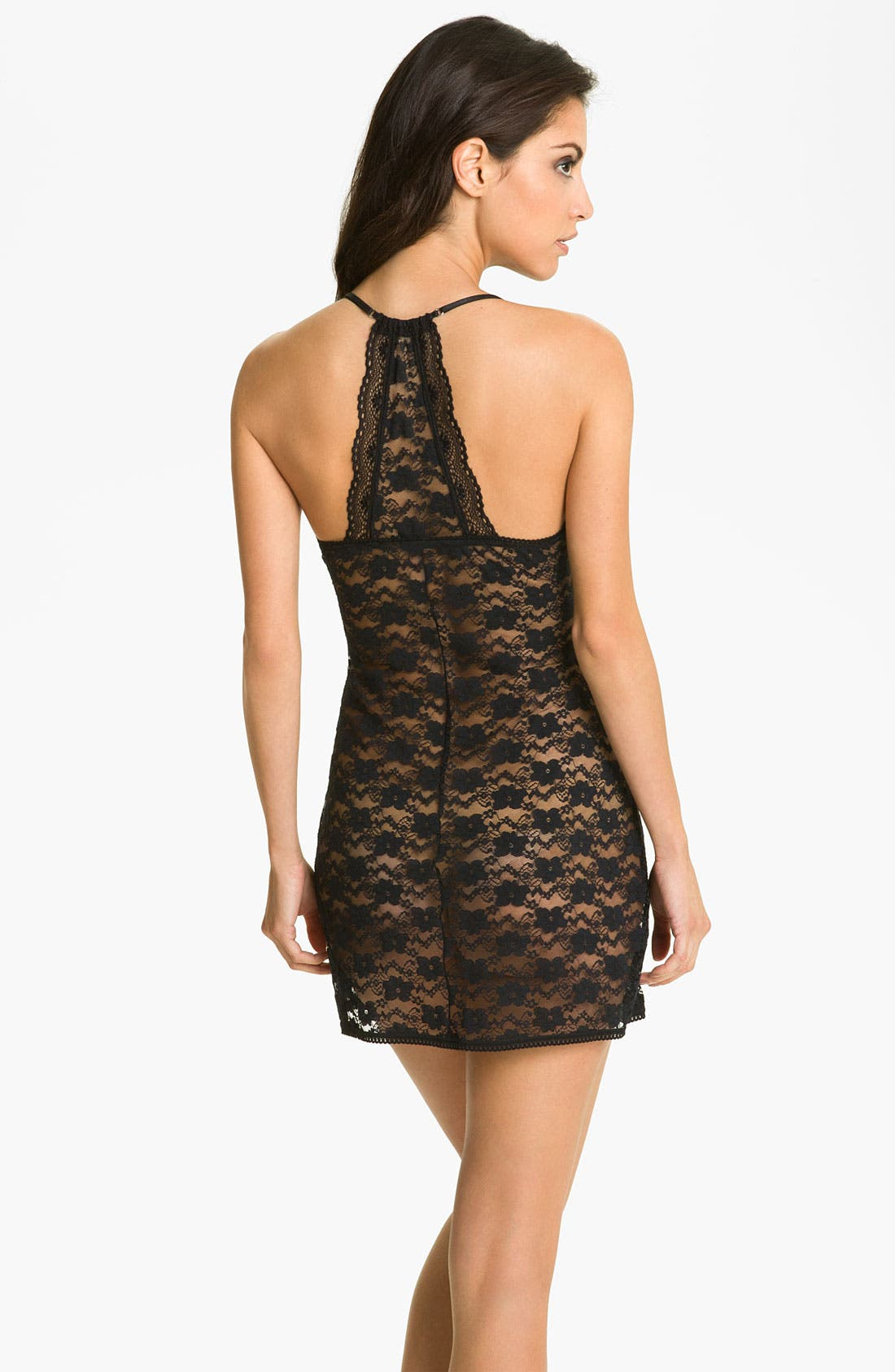 Alternate Image 2  - In Bloom by Jonquil 'Gilded Lace' Nightie