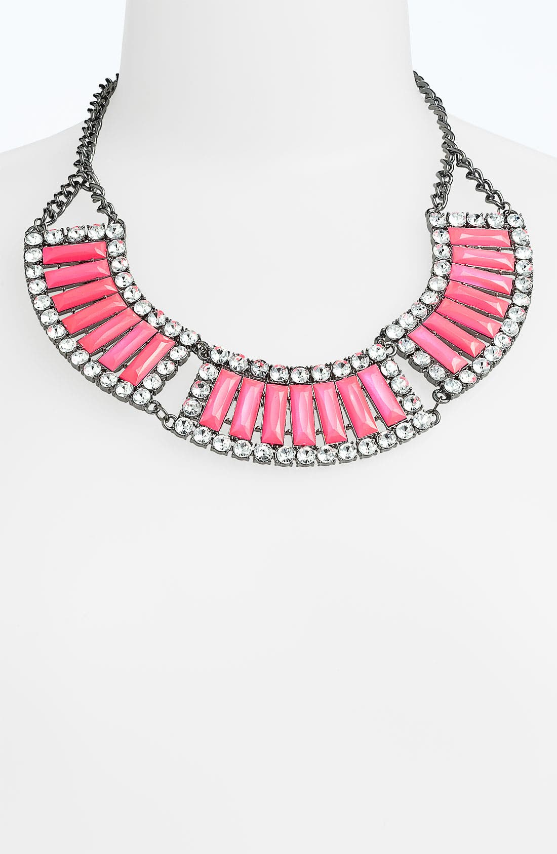 Alternate Image 1 Selected - Jewelry Fashions Bead & Crystal Collar Necklace