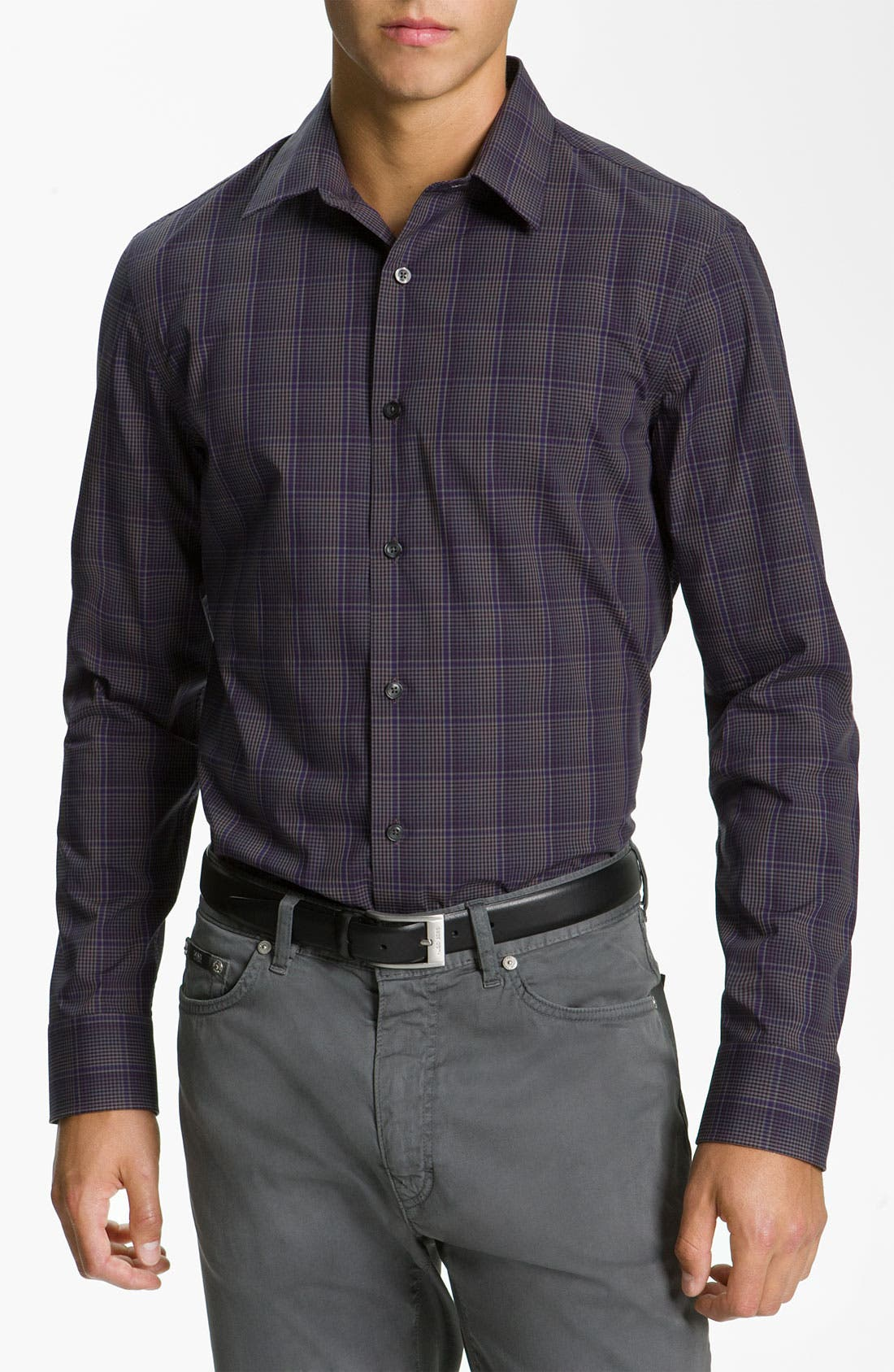 Alternate Image 1 Selected - Calibrate Trim Fit Sport Shirt