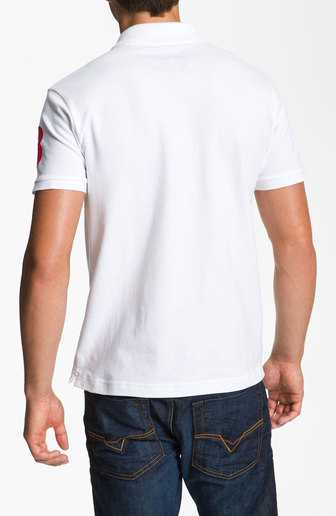 Alternate Image 2  - Etiqueta Negra Short Sleeve Polo