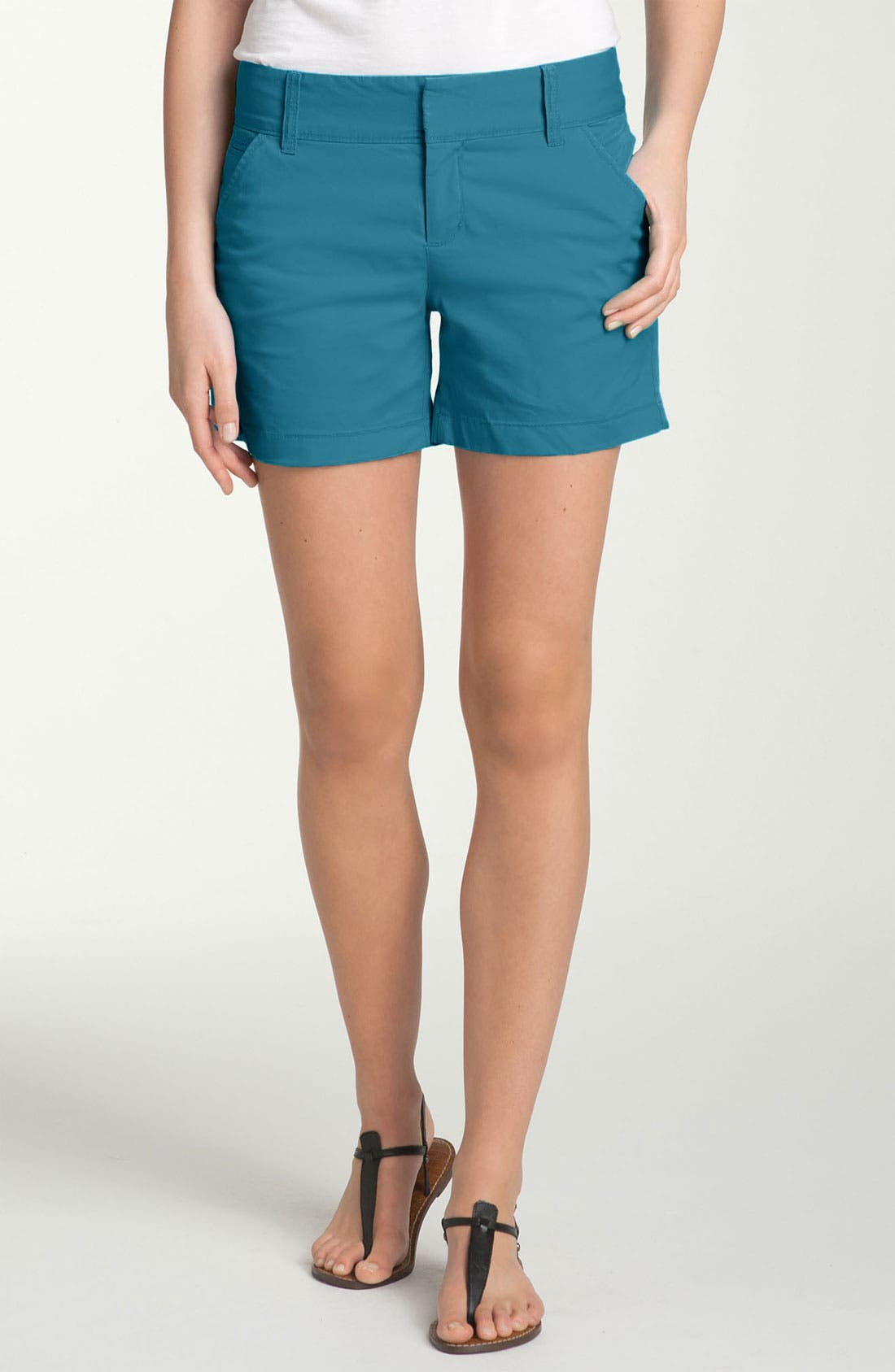 Alternate Image 1 Selected - Caslon® Stretch Twill Shorts