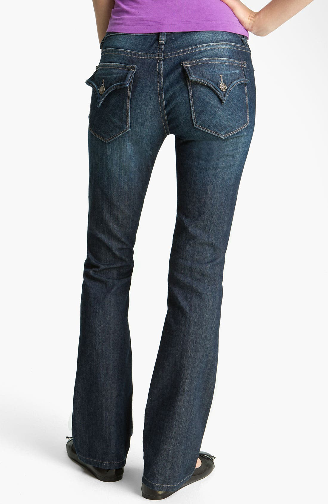 Alternate Image 1 Selected - Vigoss 'Seattle' Bootcut Jeans (Juniors)