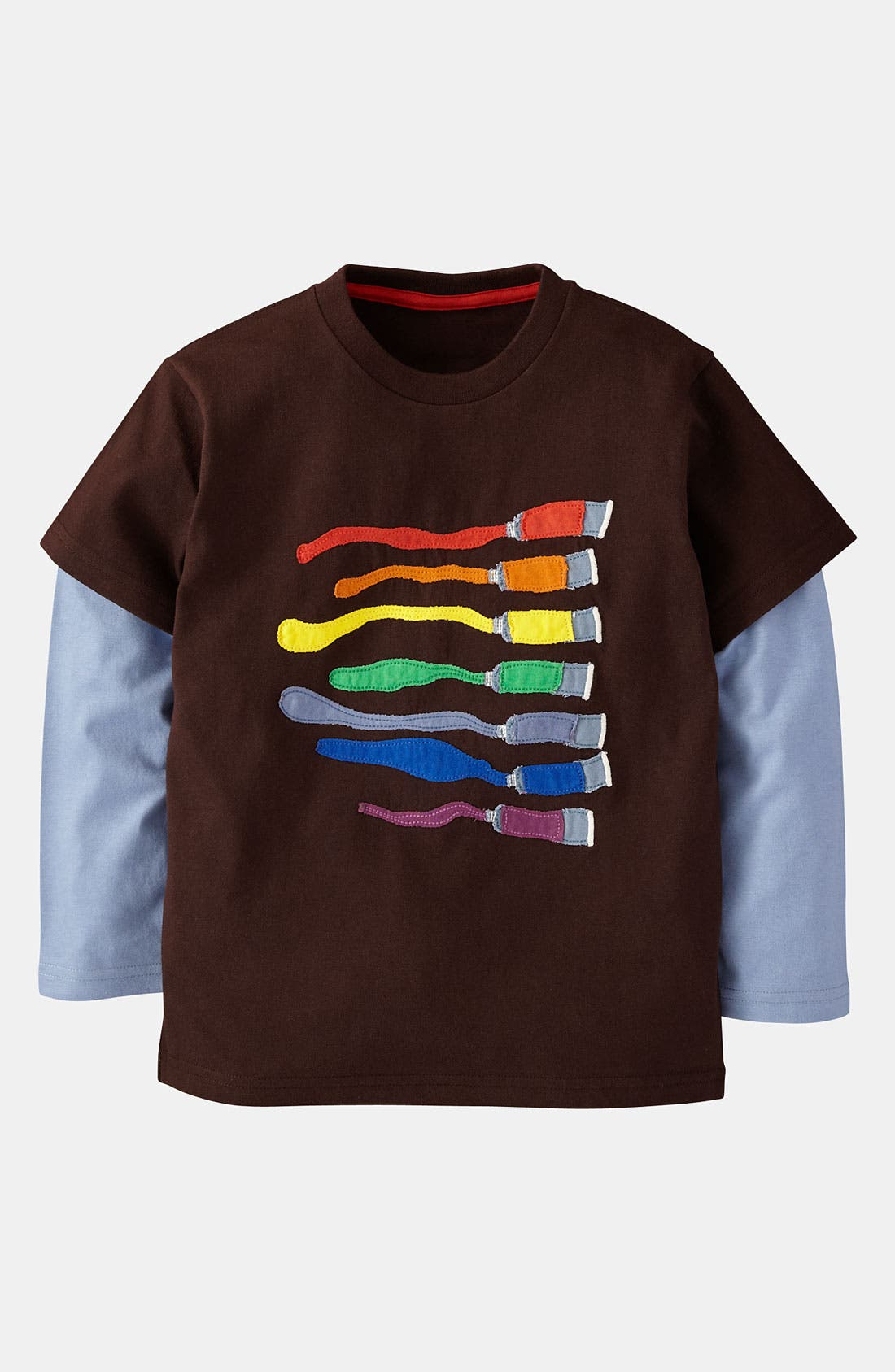 Alternate Image 1 Selected - Mini Boden 'Colorblast' T-Shirt (Little Boys & Big Boys)