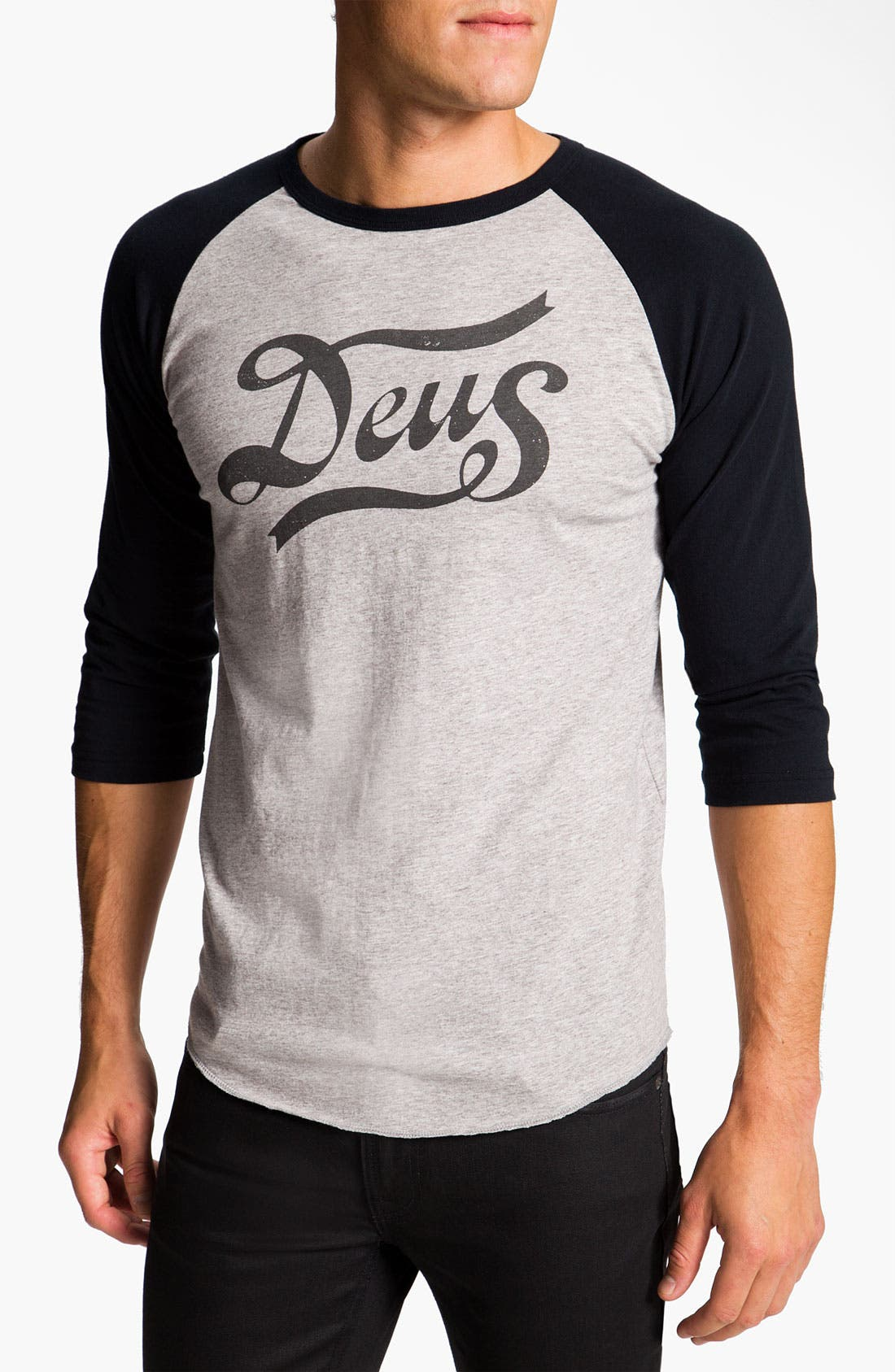 Main Image - Deus Ex Machina 'Skeers' Graphic Baseball T-Shirt