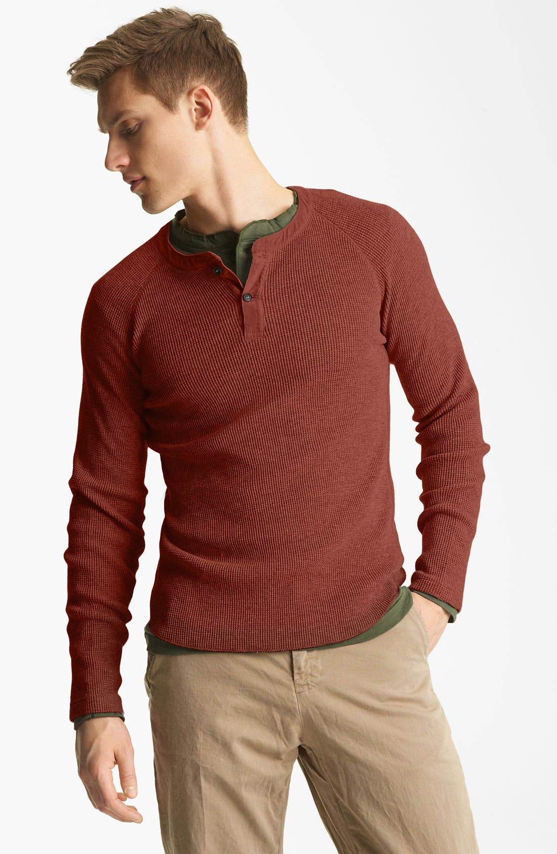 Main Image - Billy Reid Thermal Henley