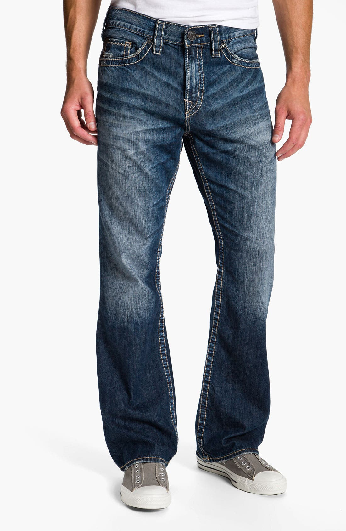 Alternate Image 2  - Silver Jeans Co. 'Grayson' Bootcut Jeans (Indigo)