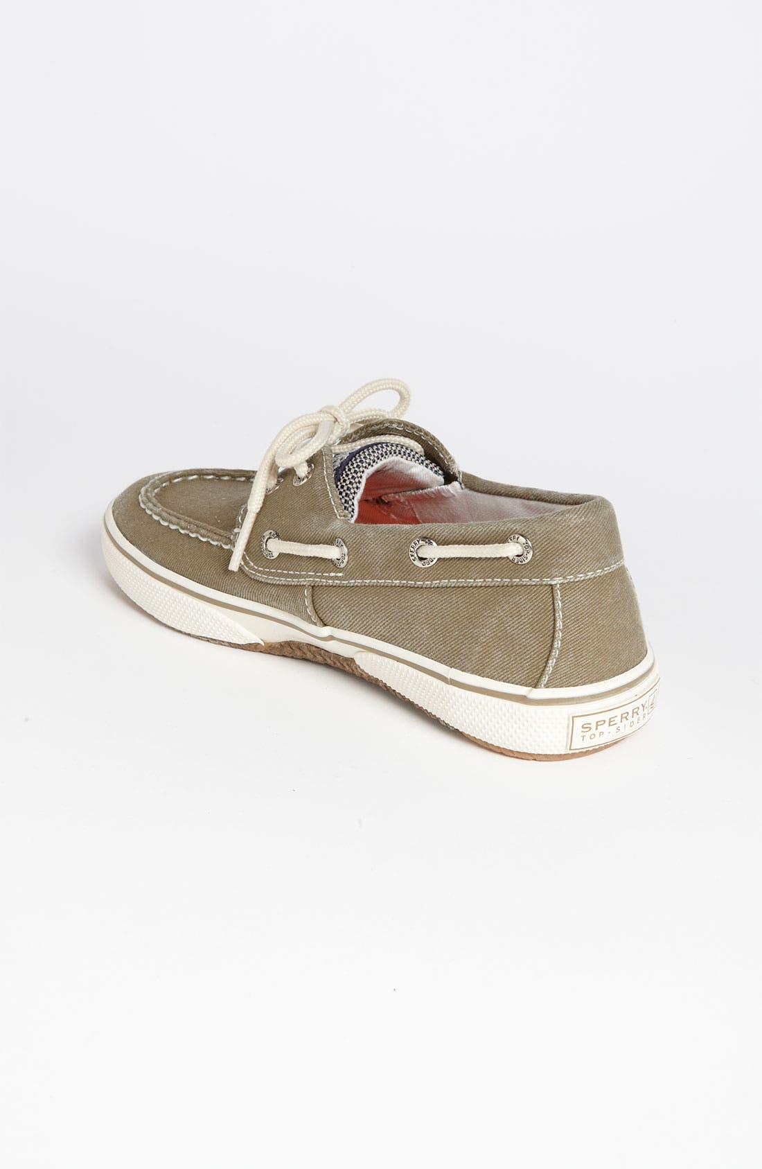 Alternate Image 2  - Sperry Top-Sider® 'Halyard' Boat Shoe (Walker, Toddler, Little Kid & Big Kid)