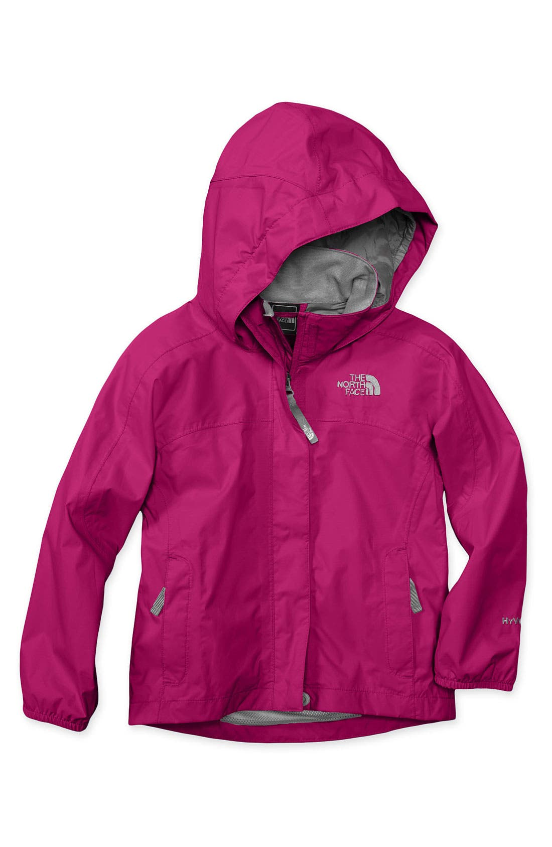 Main Image - The North Face 'Resolve' Rain Jacket (Little Girls & Big Girls)
