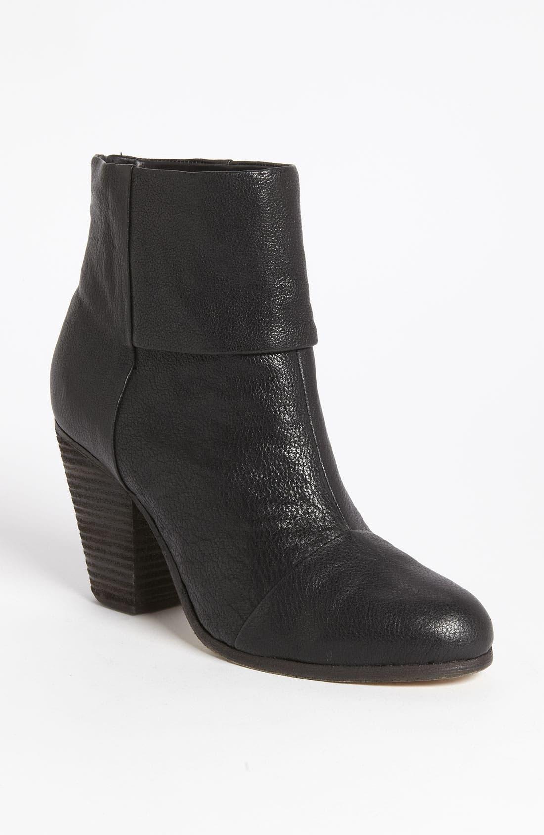 Womens Boots Great 30648201 Rag Bone Newbury 6us 36eu Brown