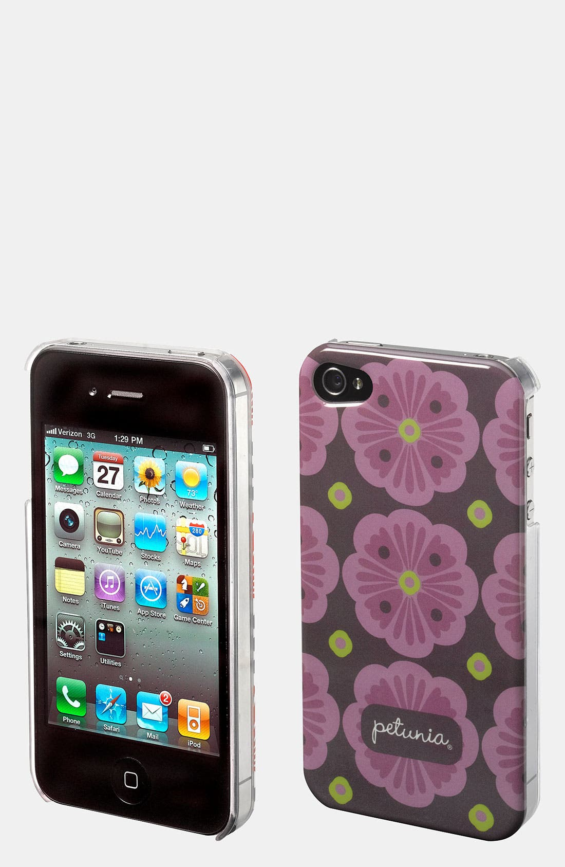 Alternate Image 1 Selected - Petunia Pickle Bottom iPhone 4 & 4s Case
