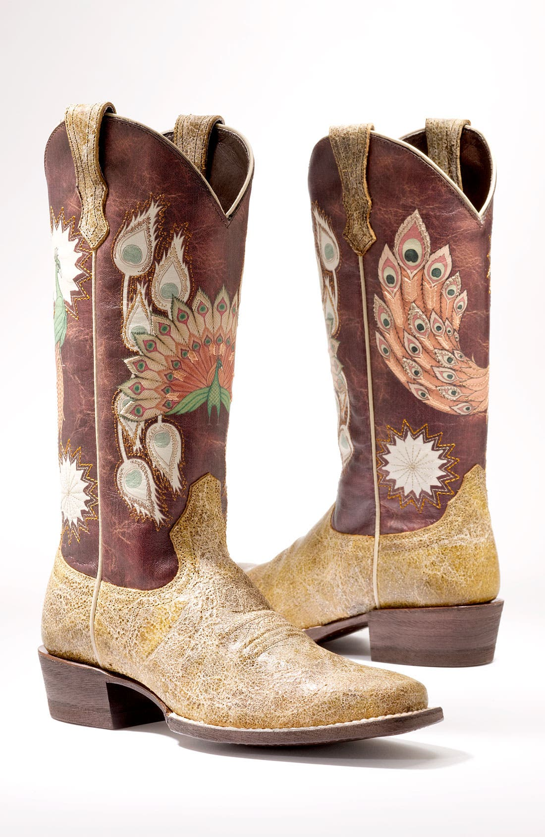 Alternate Image 5  - Ariat 'Mystic Feathers' Boot