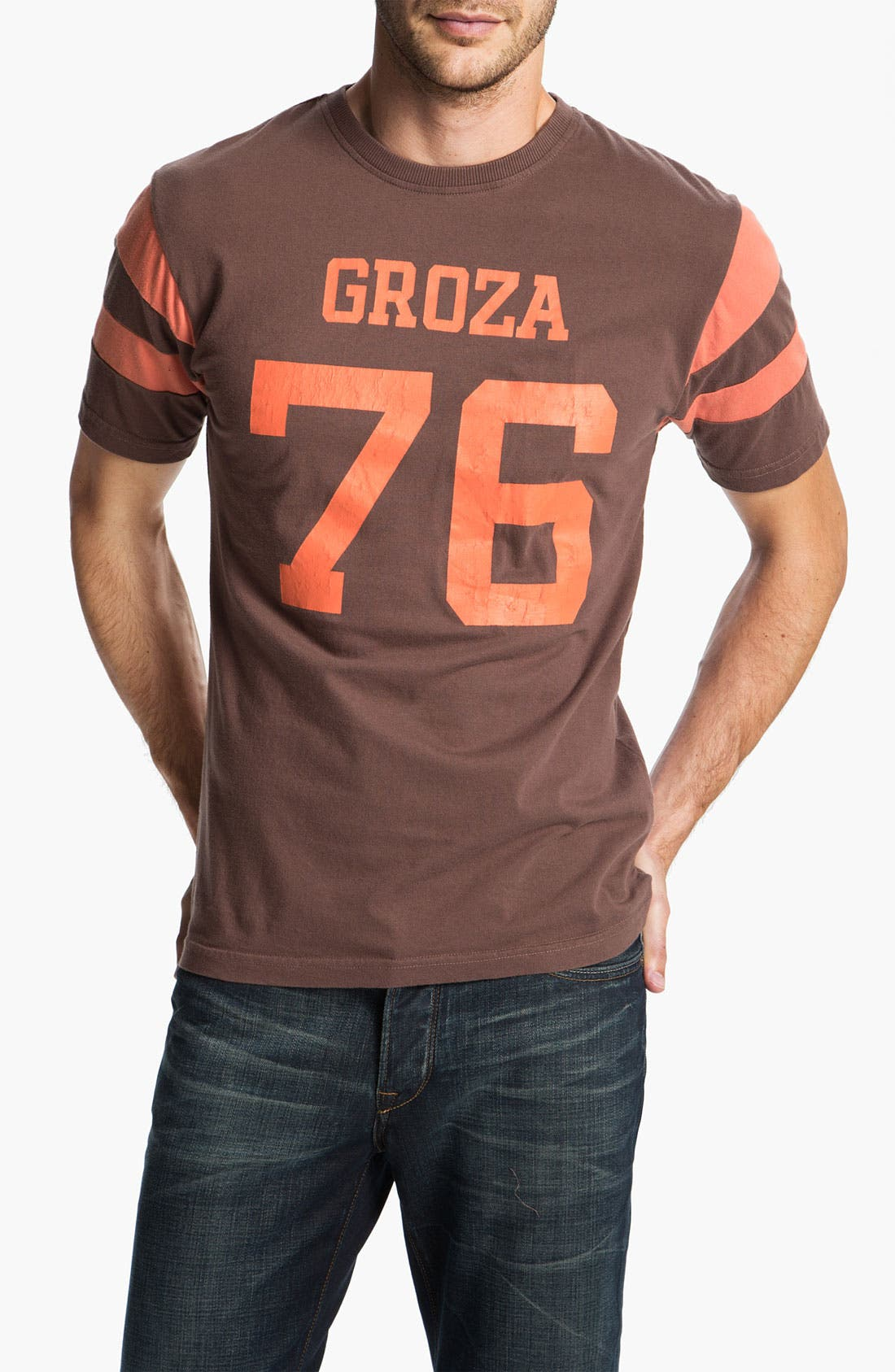 Alternate Image 1 Selected - Red Jacket 'Lou Groza - Nickel' T-Shirt