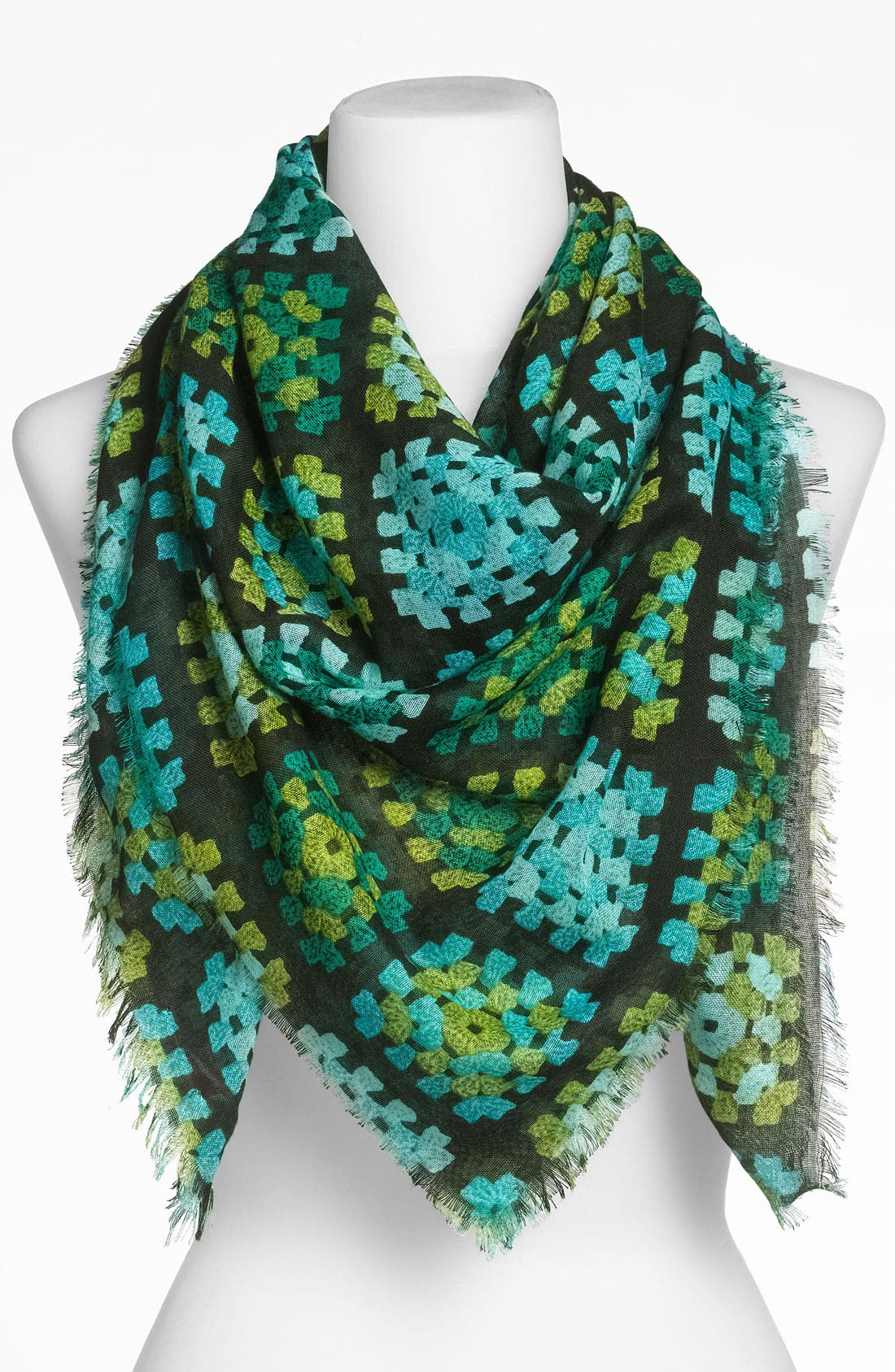 Alternate Image 1 Selected - Echo 'Granny Patchwork' Scarf