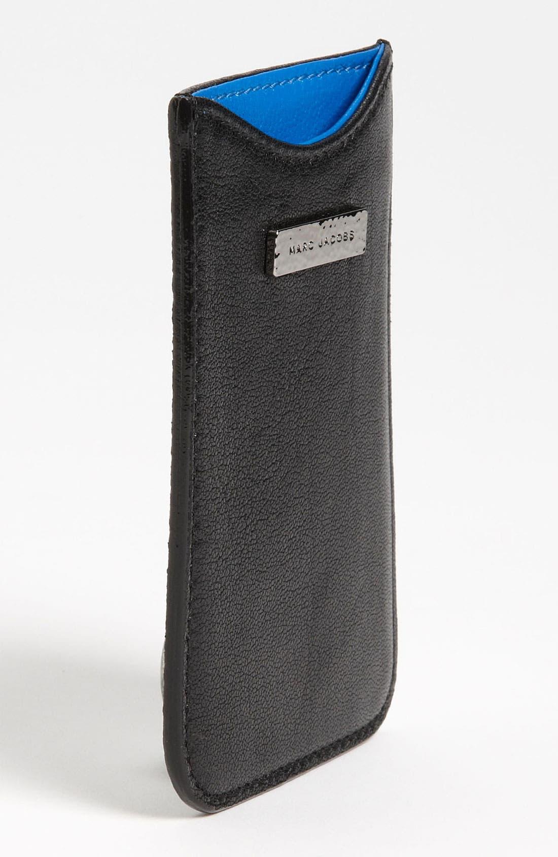 Alternate Image 2  - MARC JACOBS Leather iPhone Sleeve