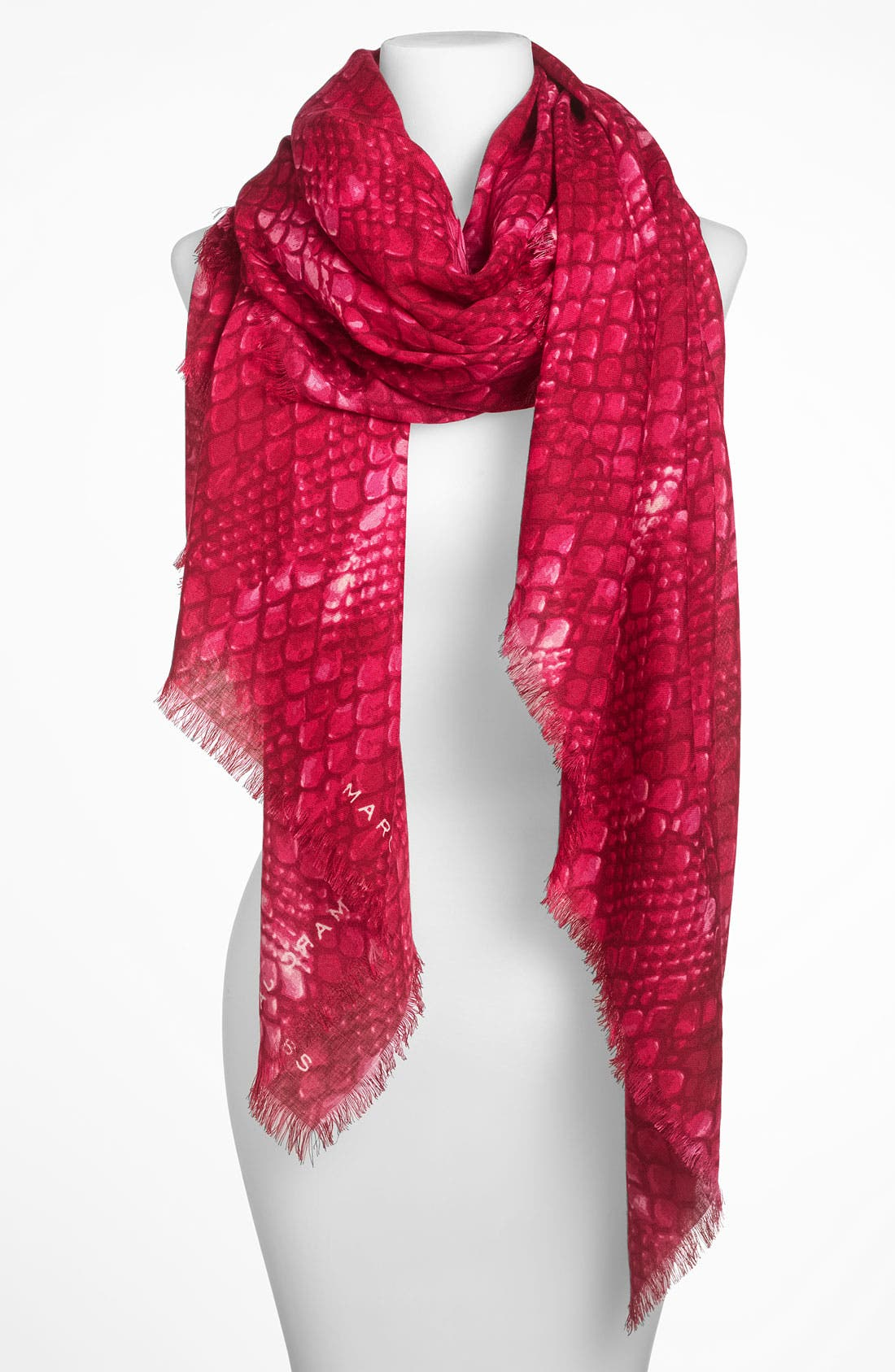 Main Image - MARC BY MARC JACOBS 'Dragon Scale' Wool Scarf