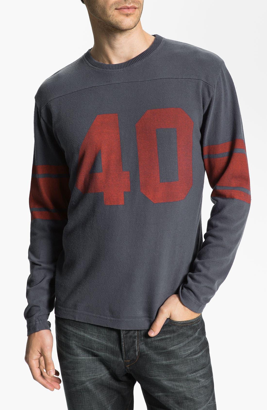 Alternate Image 1 Selected - Red Jacket 'Gale Sayers - Bulldog' Long Sleeve T-Shirt