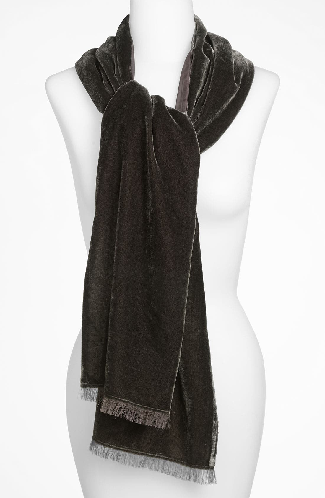 Alternate Image 1 Selected - Nordstrom Velvet Chiffon Scarf